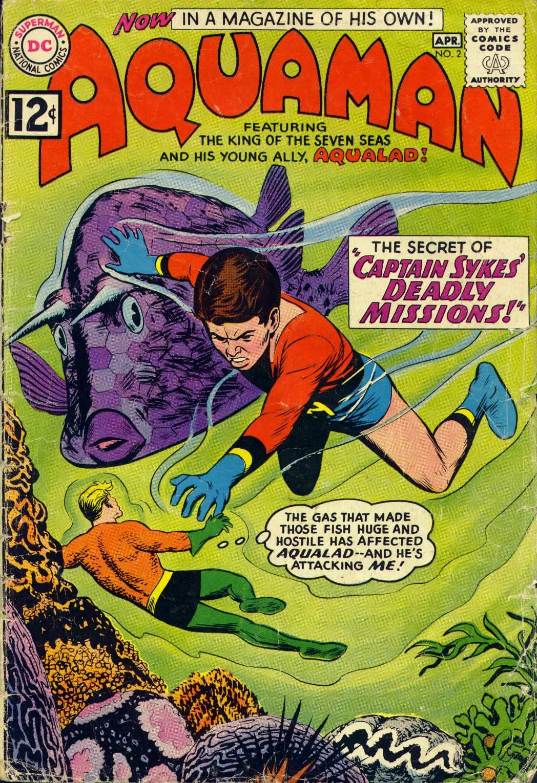 Read online Aquaman (1962) comic -  Issue #2 - 1