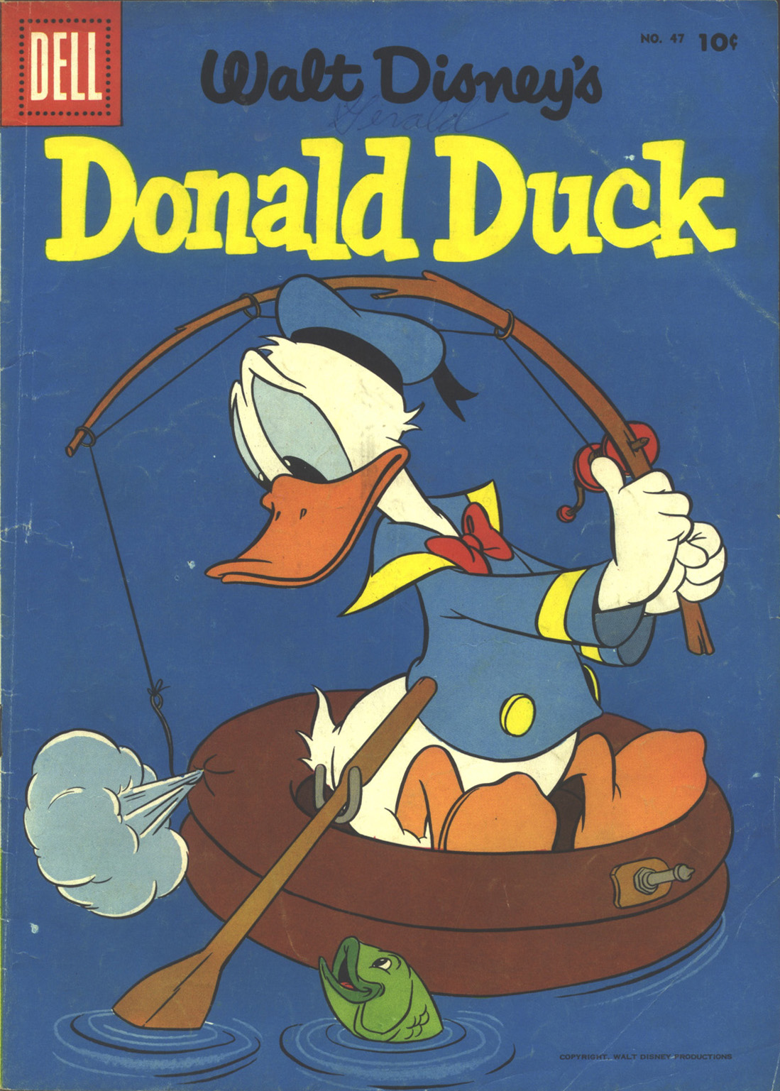 Walt Disney's Donald Duck (1952) issue 47 - Page 1