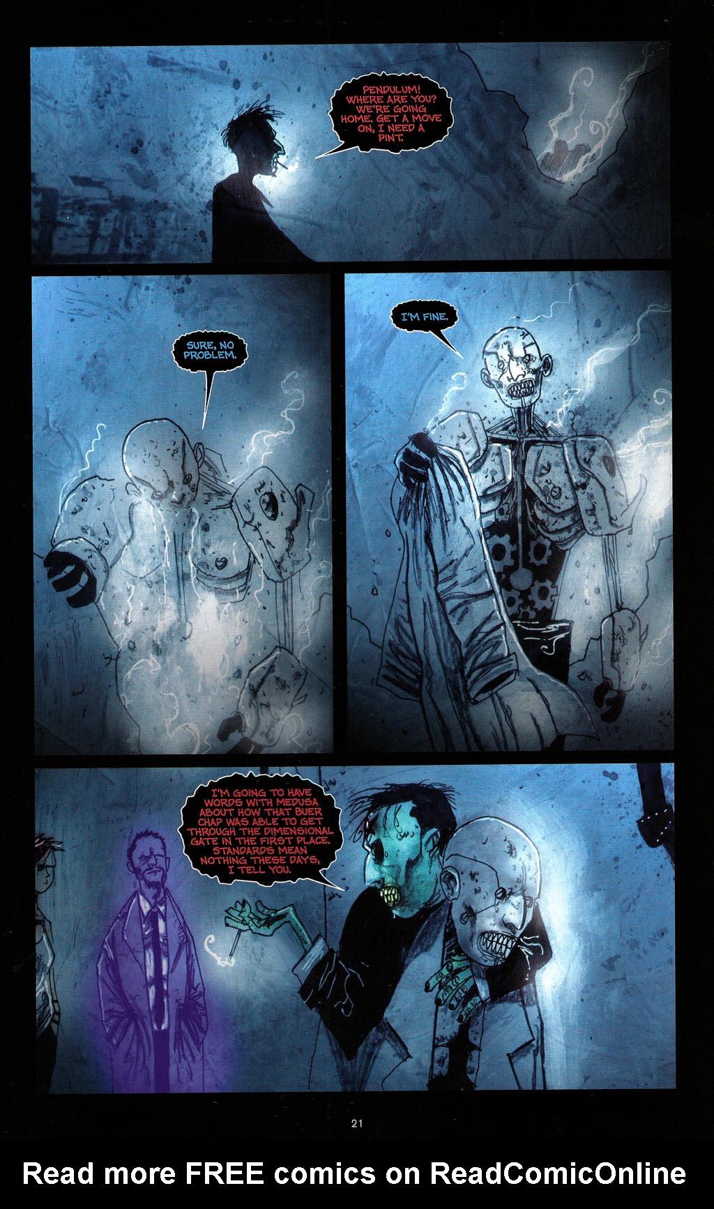 Read online Wormwood: Gentleman Corpse comic -  Issue #4 - 24