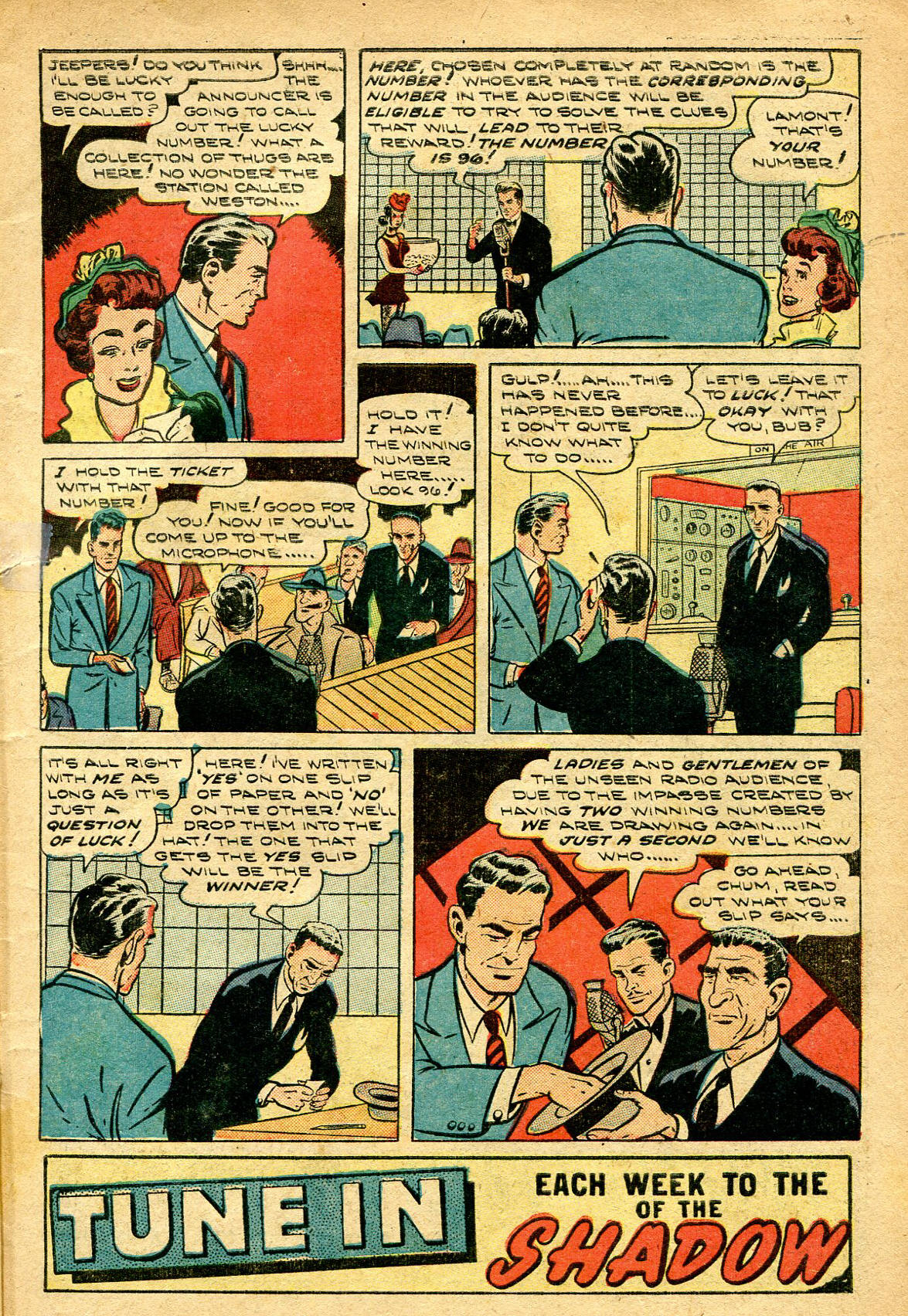 Read online Shadow Comics comic -  Issue #96 - 5
