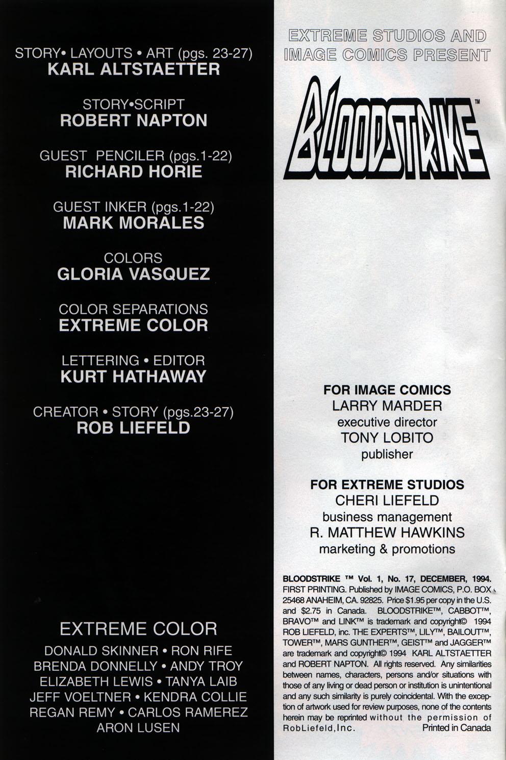 Bloodstrike (1993) 17 Page 2