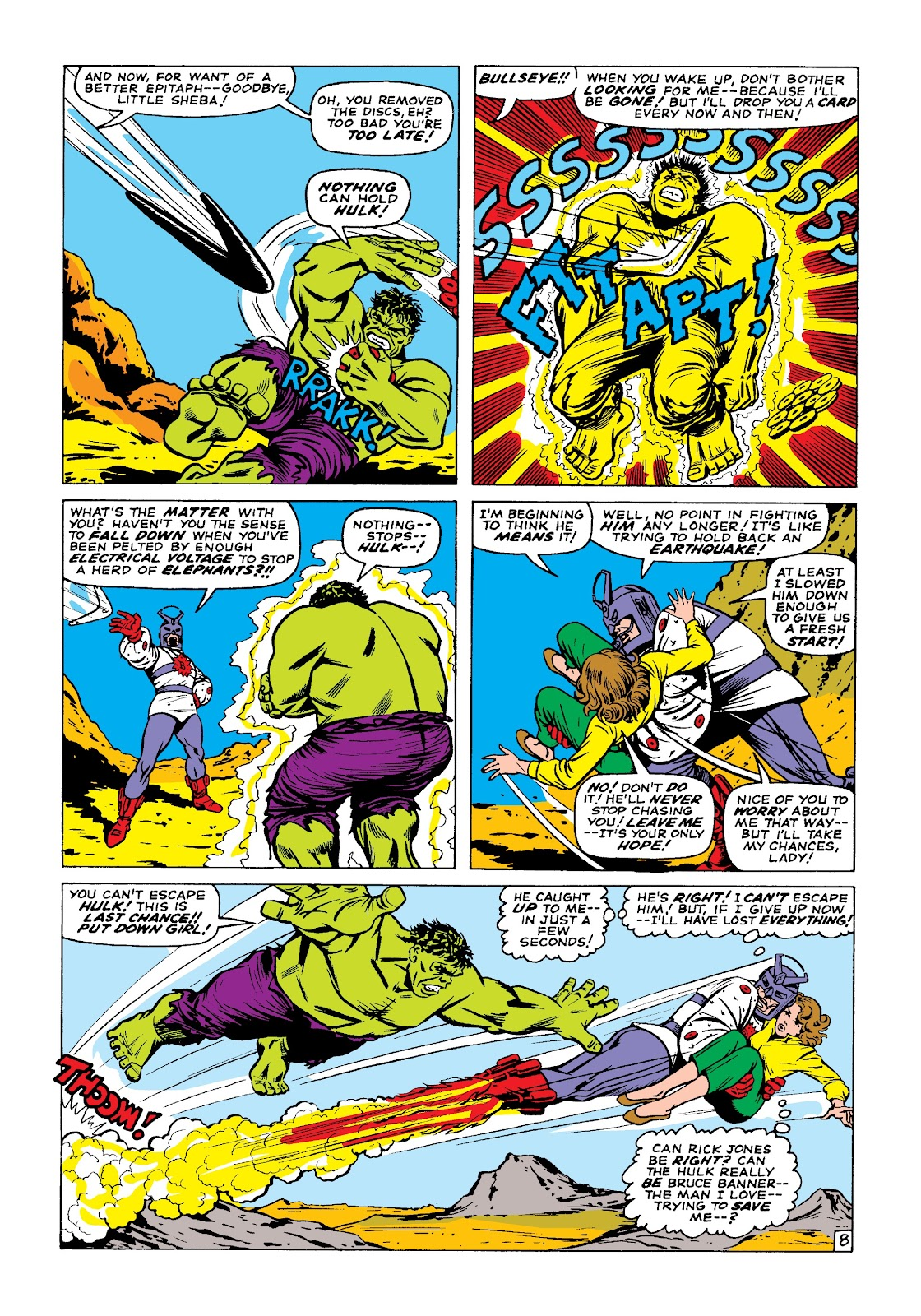 Read online Marvel Masterworks: The Incredible Hulk comic -  Issue # TPB 3 (Part 1) - 37
