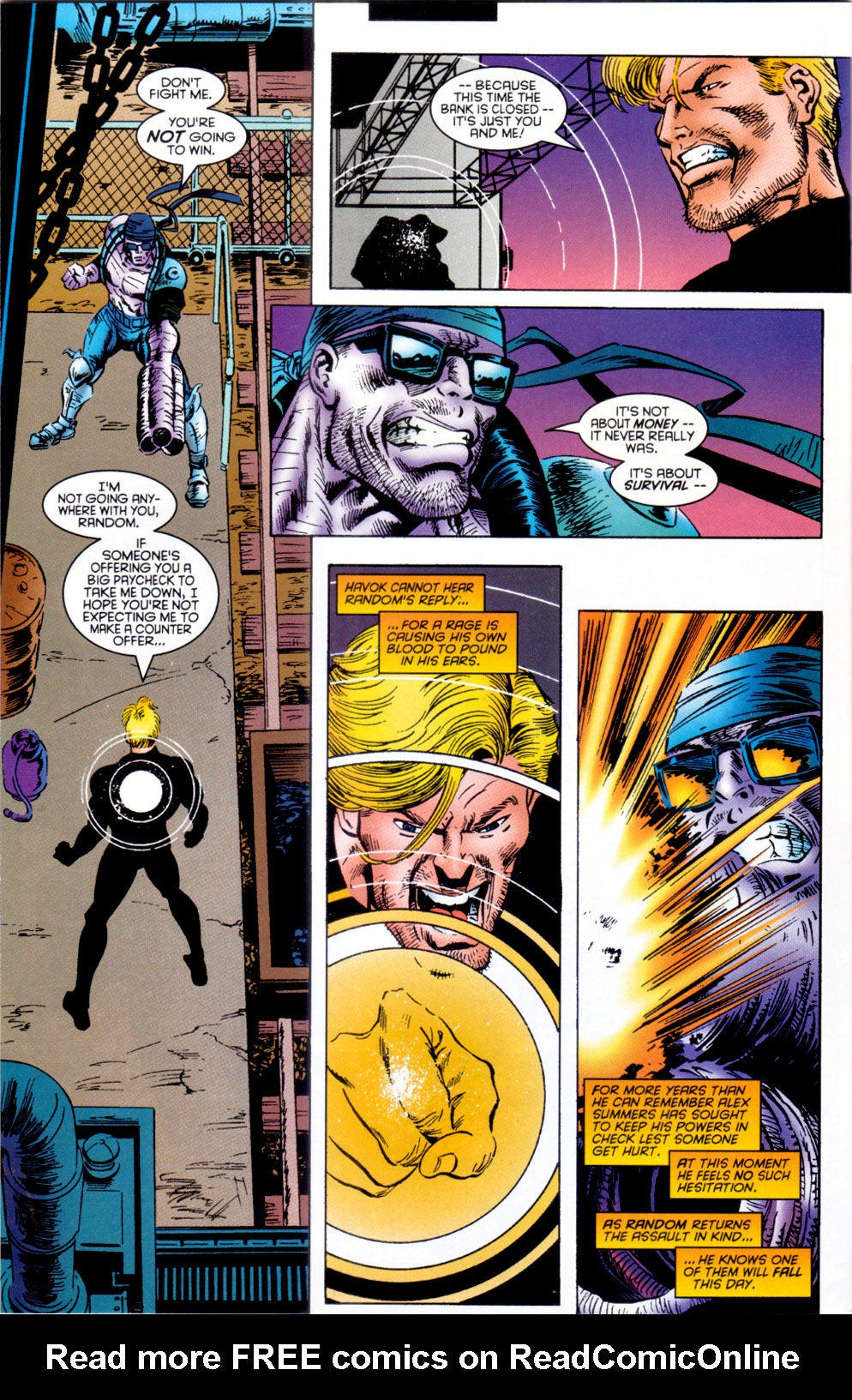Read online X-Factor (1986) comic -  Issue #117 - 20