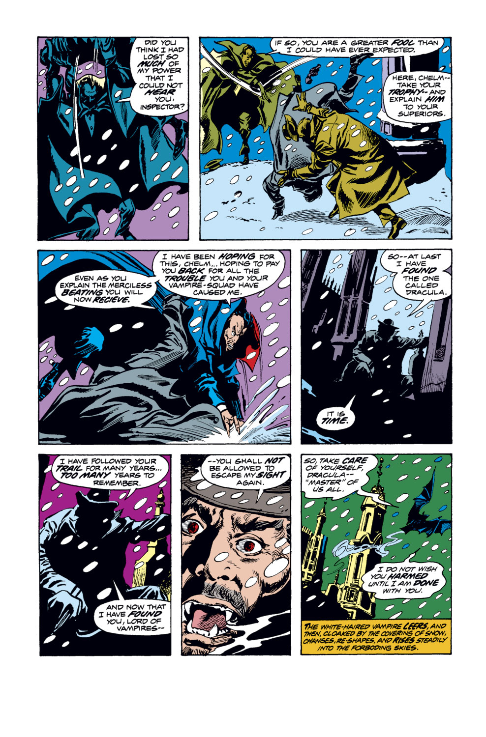 Tomb of Dracula (1972) issue 34 - Page 7