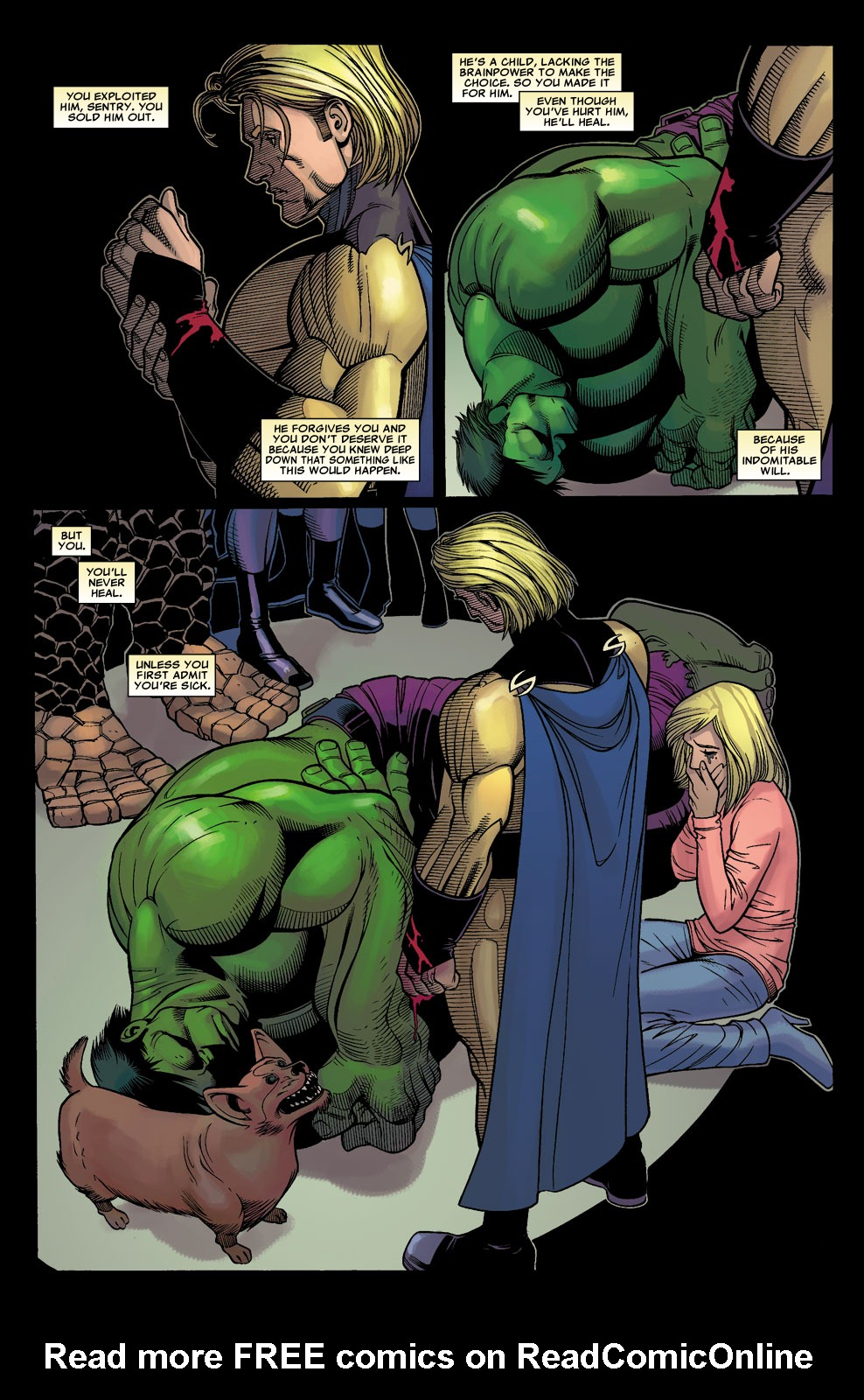 Read online Sentry (2006) comic -  Issue #3 - 23