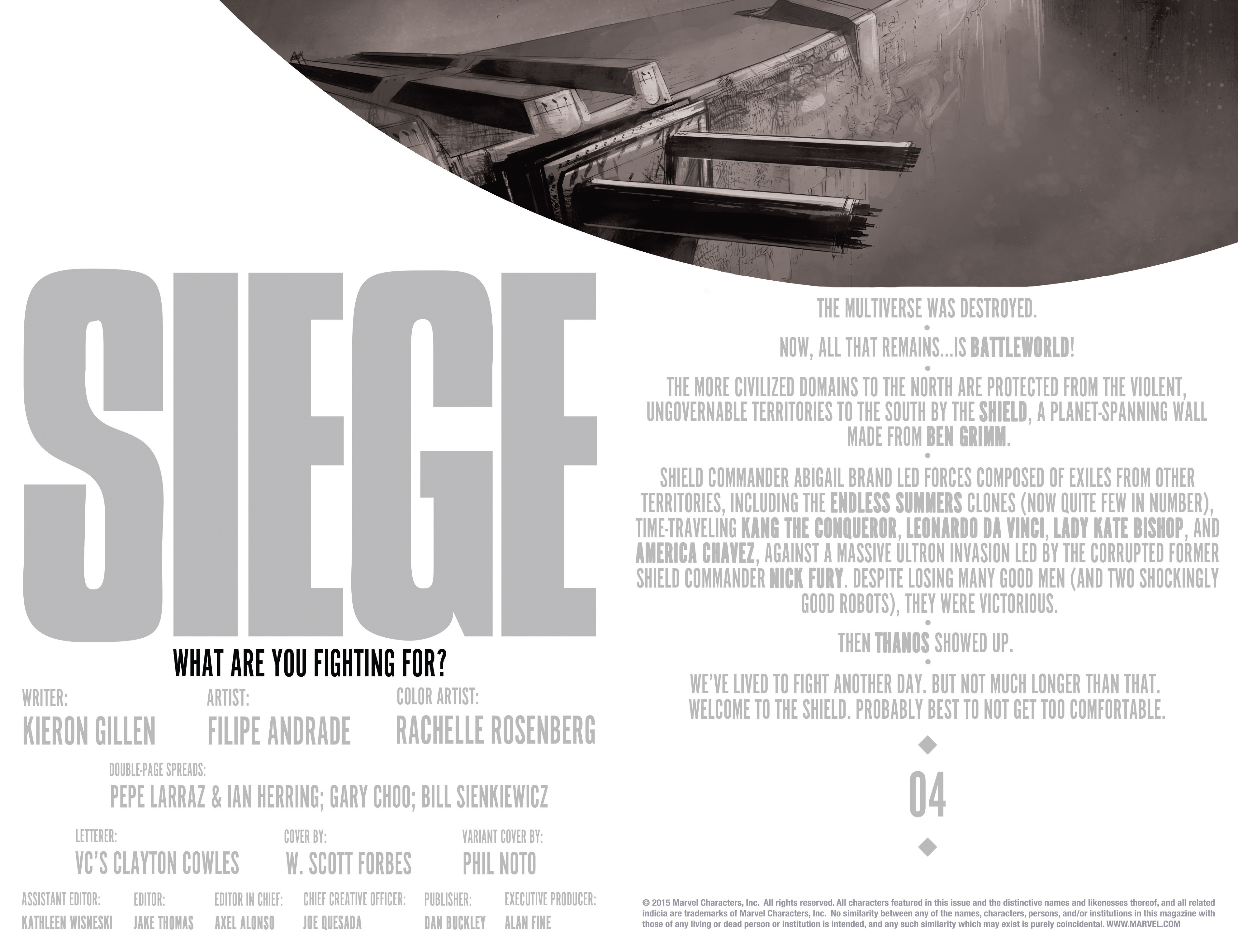 Read online Siege (2015) comic -  Issue #4 - 5