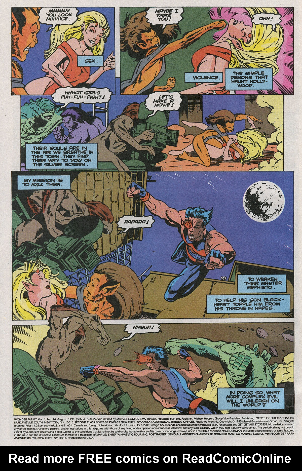 Read online Wonder Man (1991) comic -  Issue #24 - 3