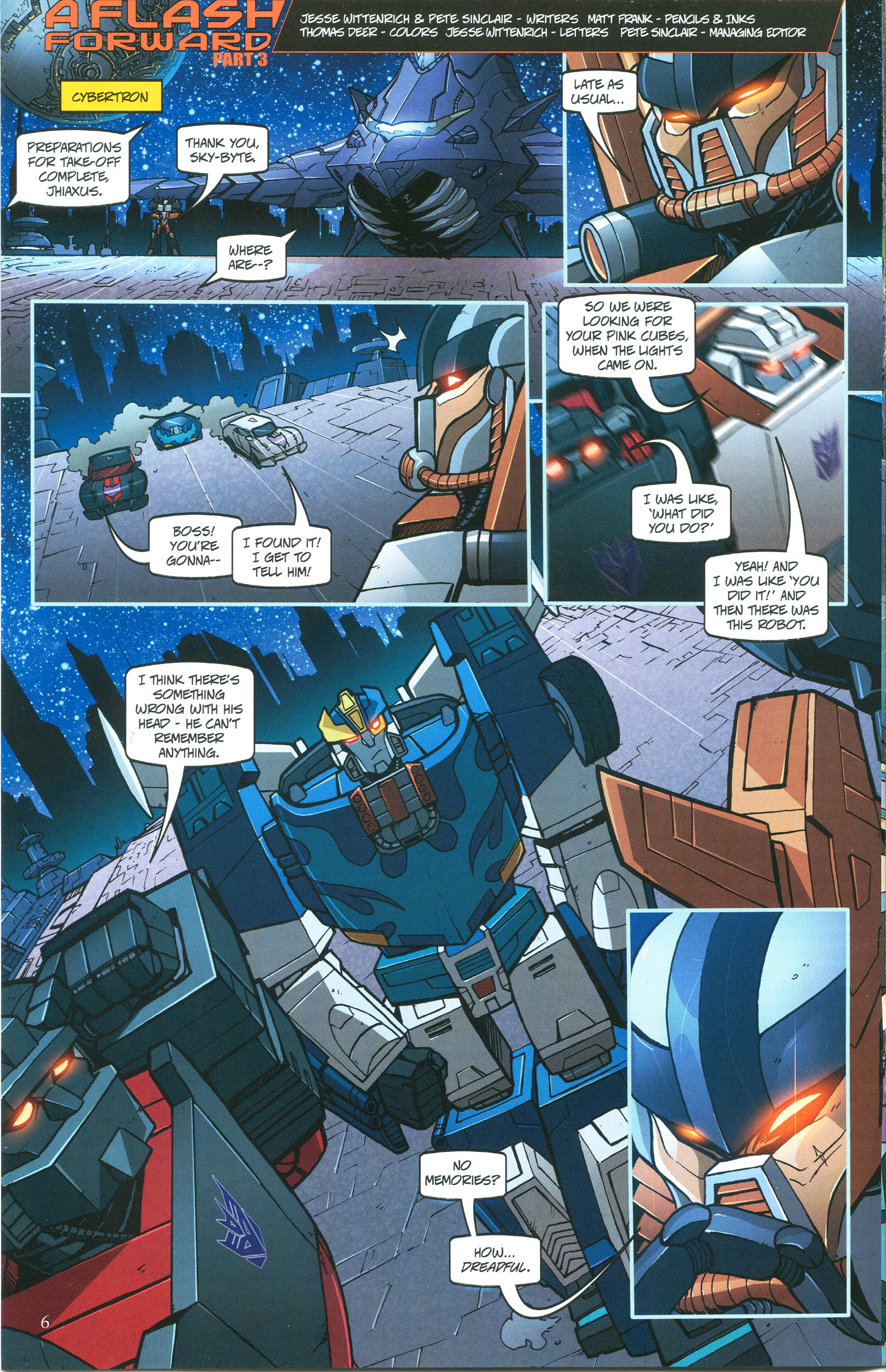 Read online Transformers: Collectors' Club comic -  Issue #45 - 6