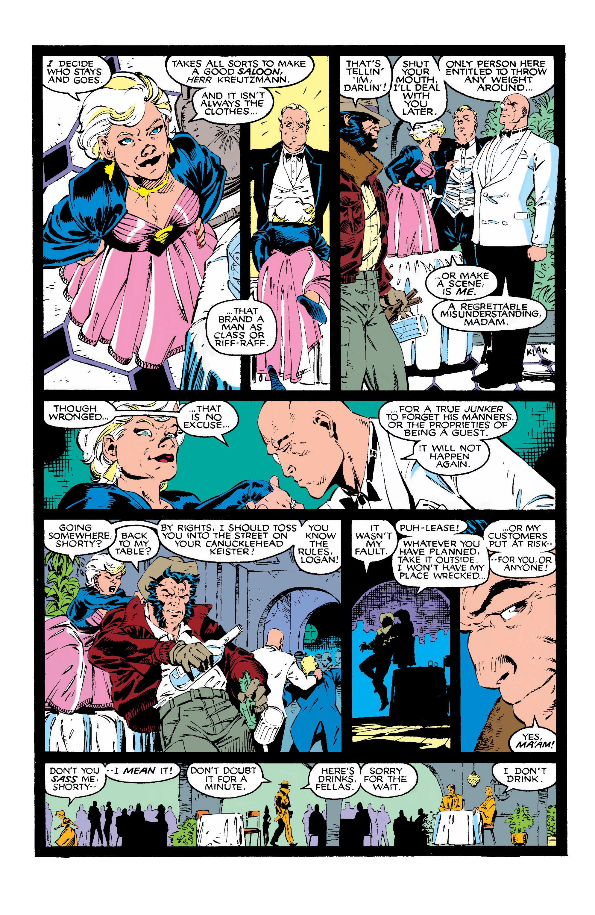Read online Uncanny X-Men (1963) comic -  Issue #268 - 10