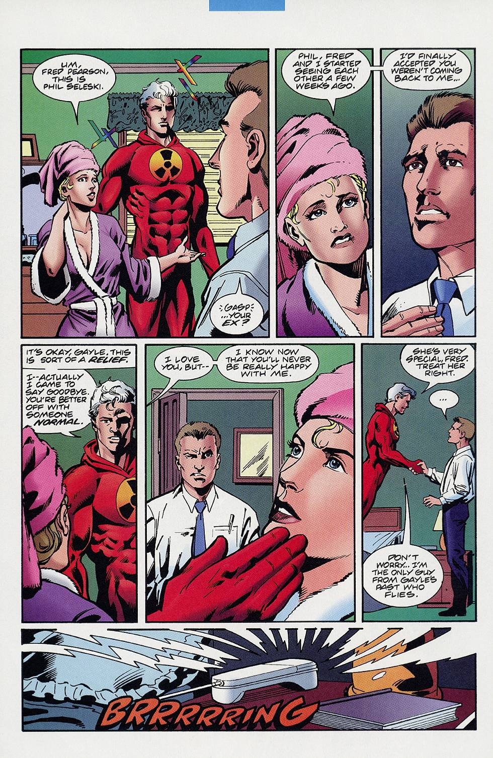 Read online Solar, Man of the Atom comic -  Issue #59 - 14