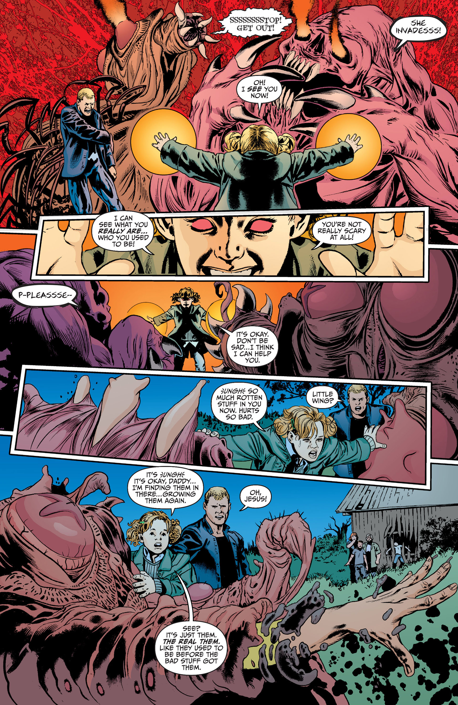 Read online Animal Man (2011) comic -  Issue #18 - 15