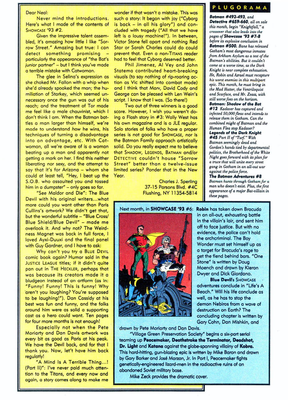 Read online Showcase '93 comic -  Issue #5 - 41
