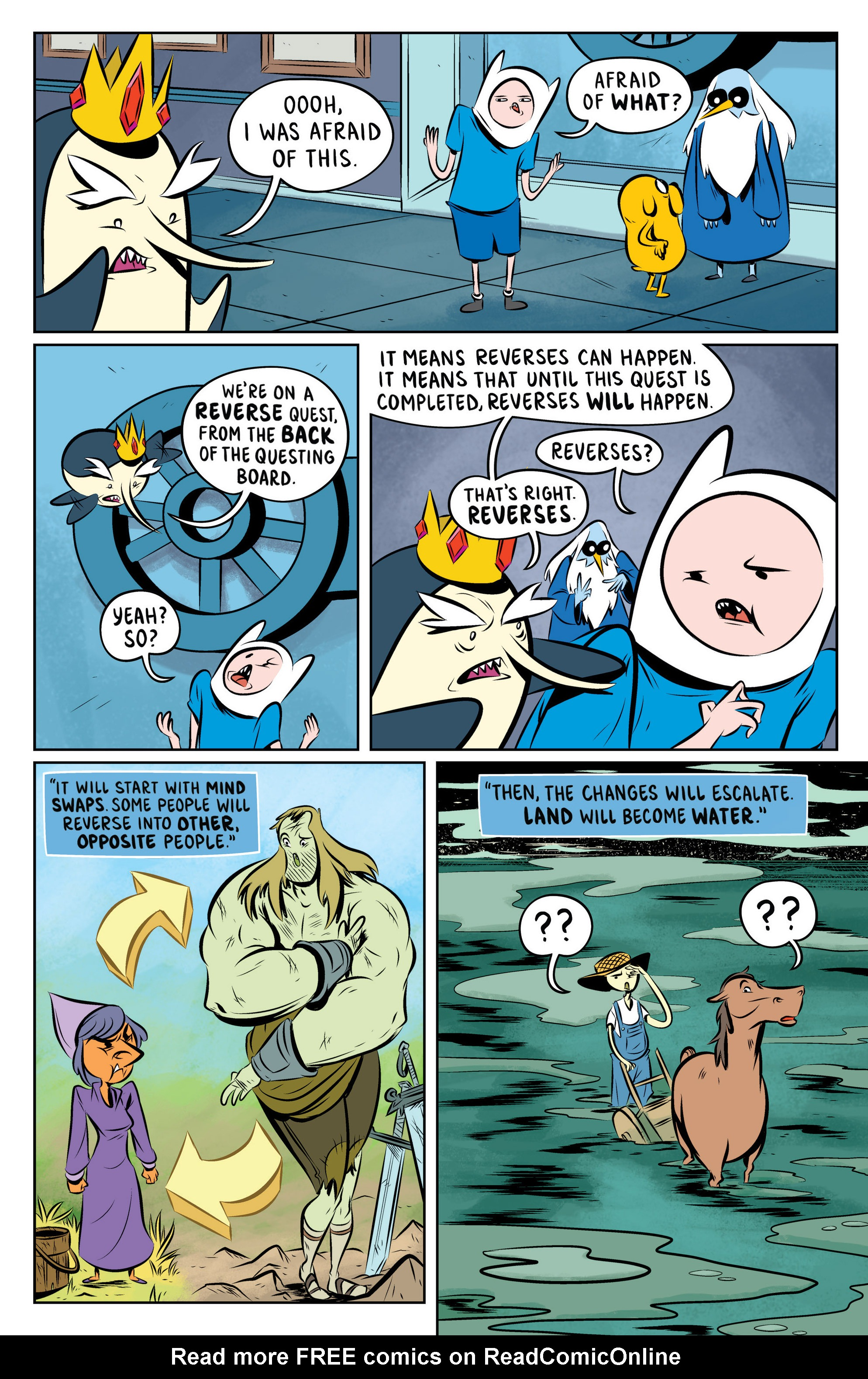 Read online Adventure Time: The Flip Side comic -  Issue #2 - 20