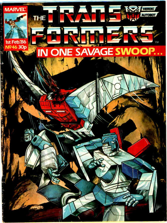 The Transformers (UK) 46 Page 1