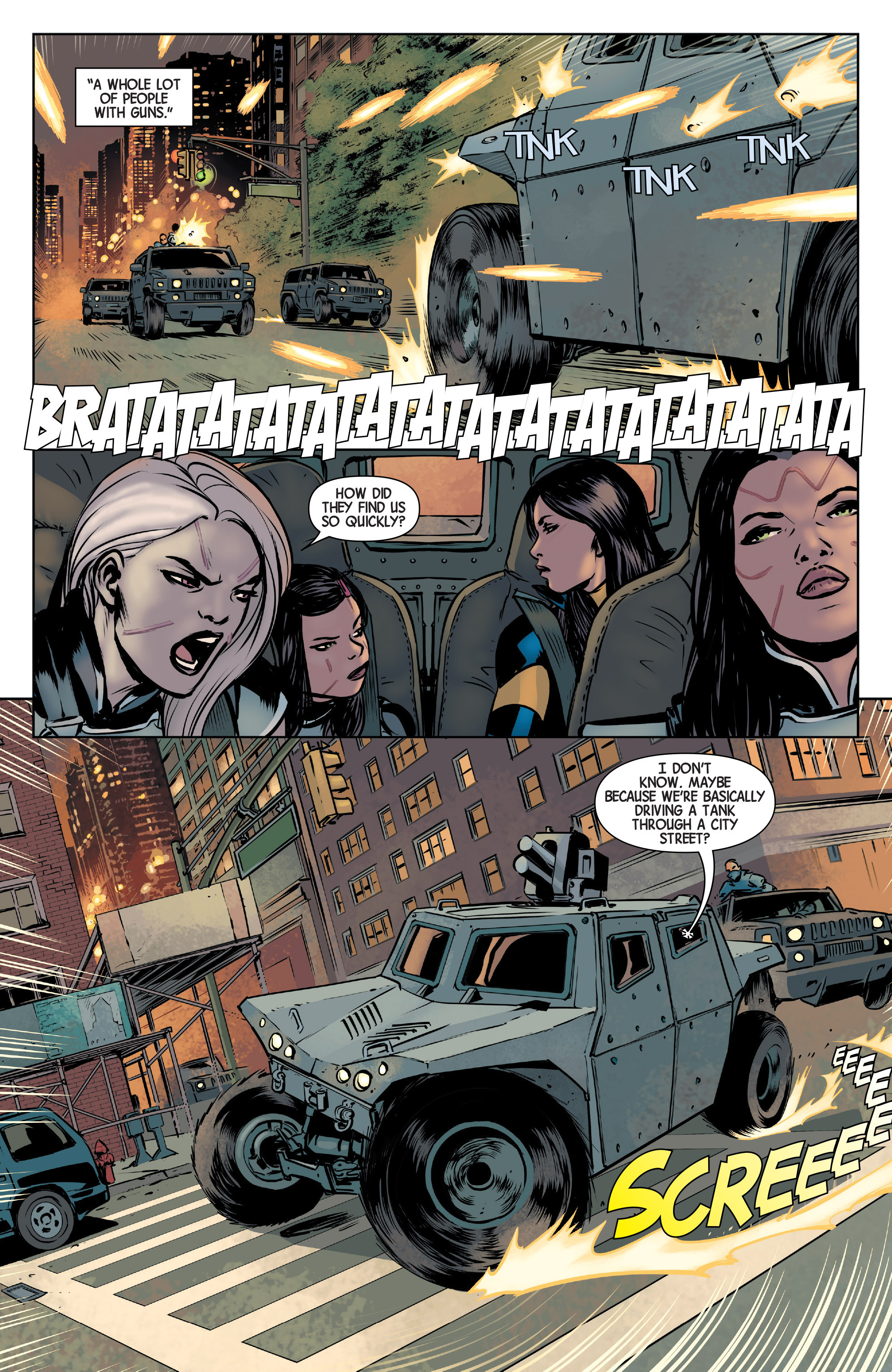 Read online All-New Wolverine (2016) comic -  Issue #3 - 11