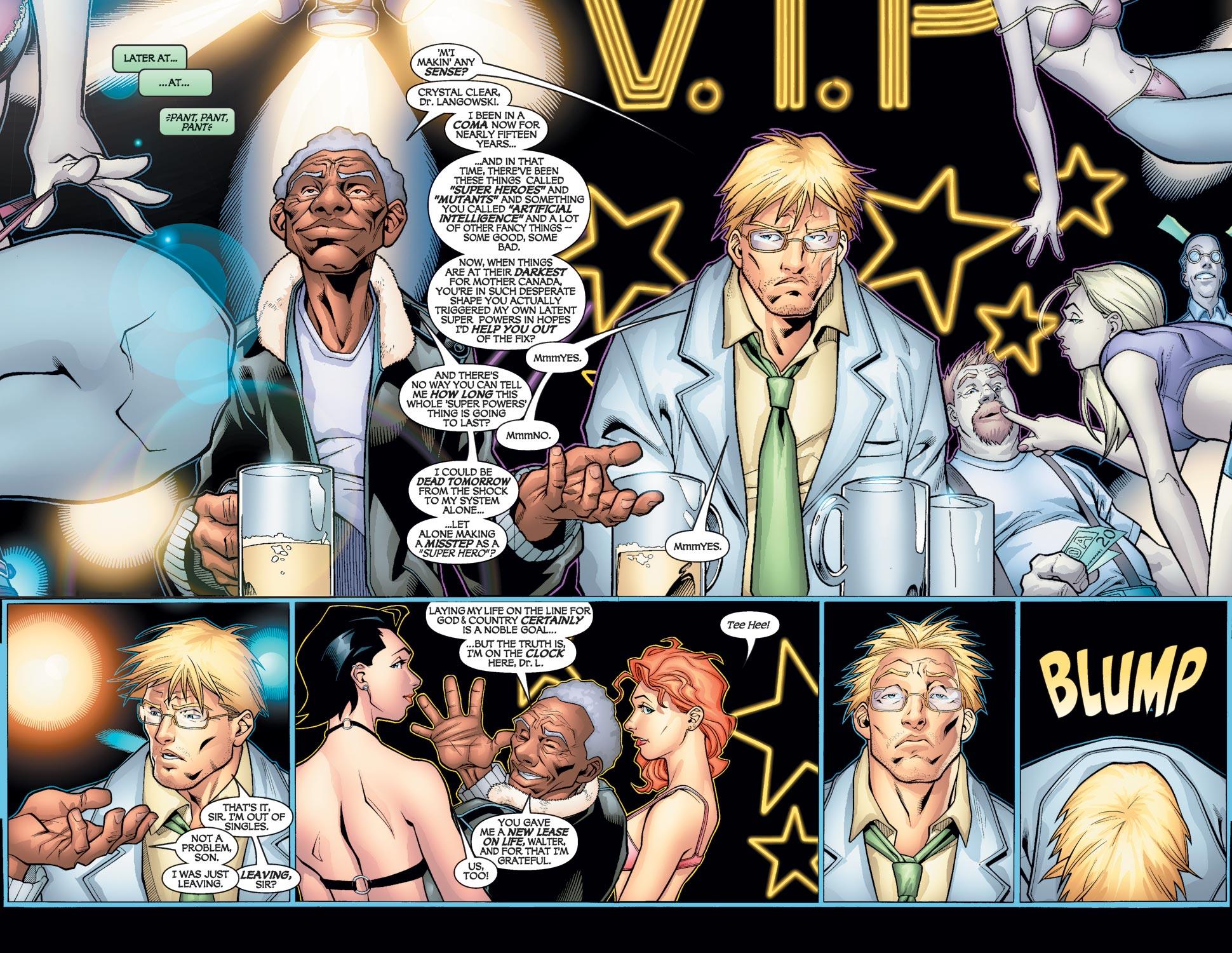 Read online Alpha Flight (2004) comic -  Issue #1 - 16