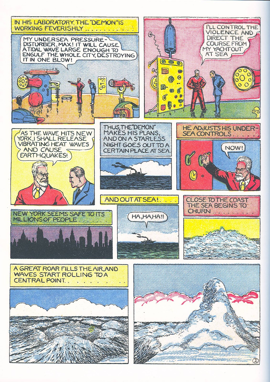 Read online Fantastic Comics comic -  Issue #3 - 55