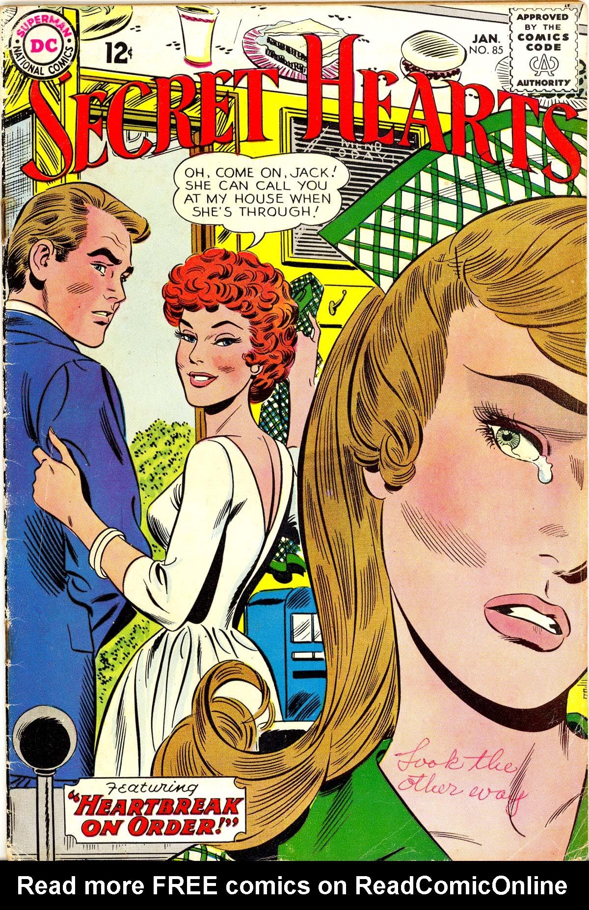 Read online Secret Hearts comic -  Issue #85 - 1