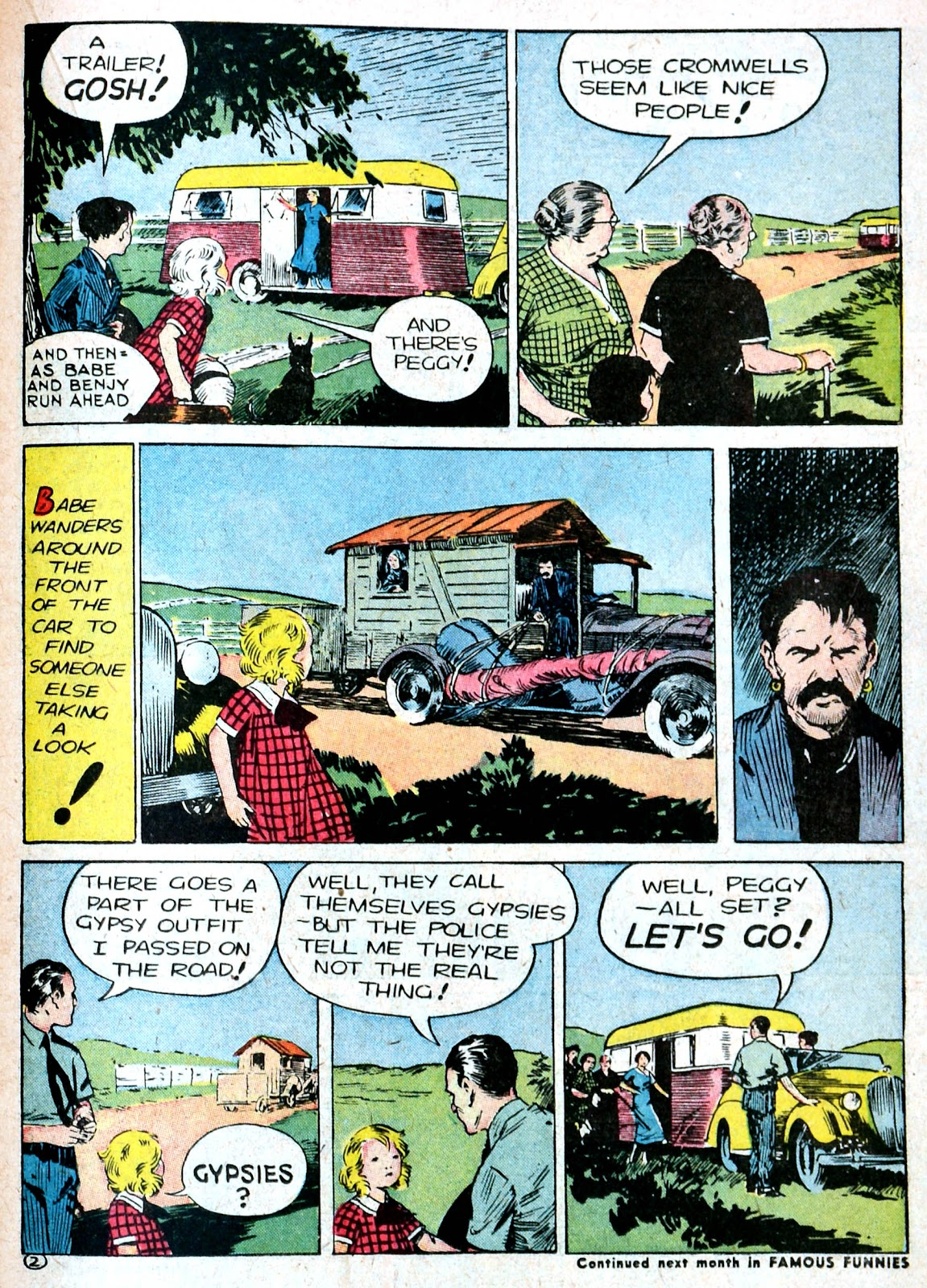 Read online Famous Funnies comic -  Issue #87 - 36