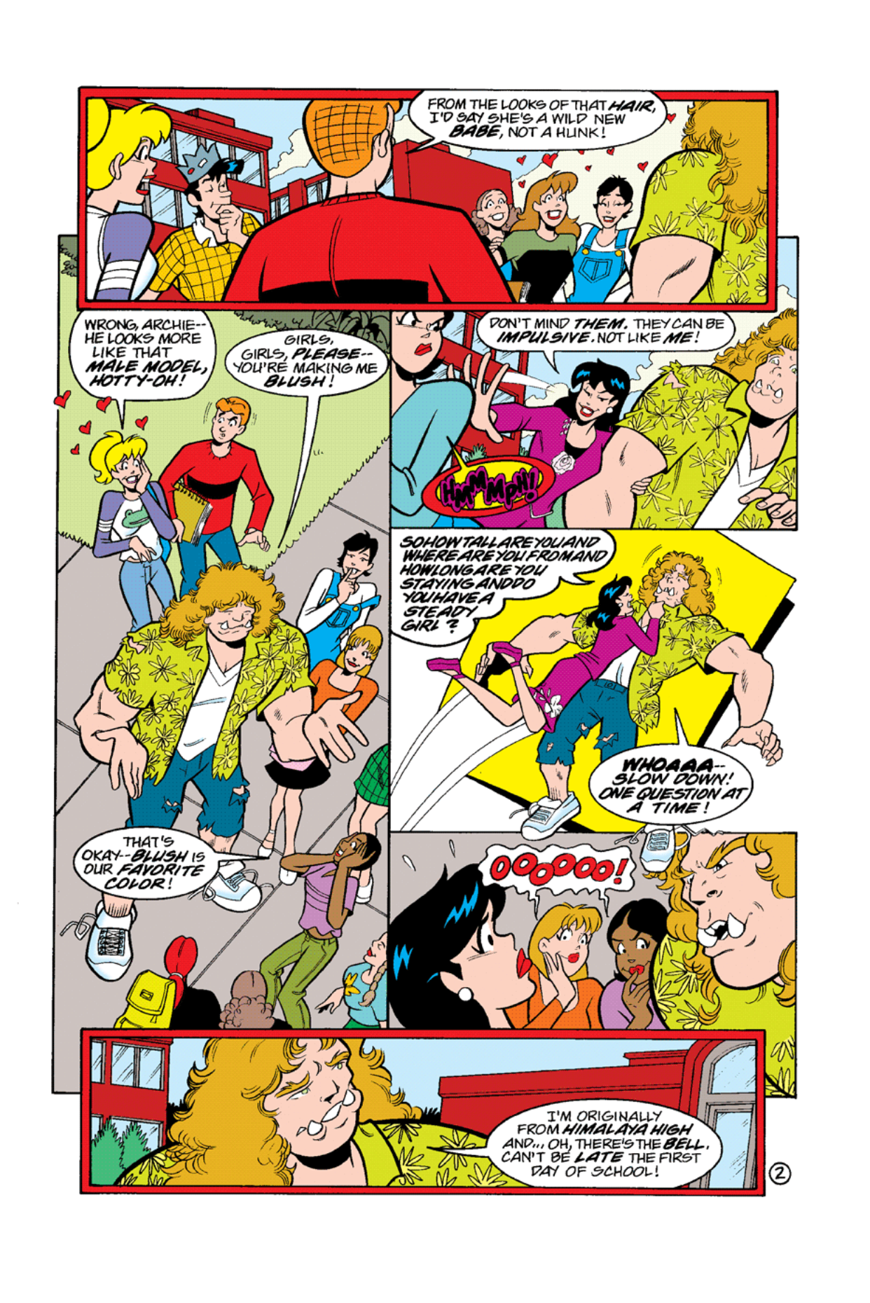 Read online Archie's Weird Mysteries comic -  Issue #10 - 4