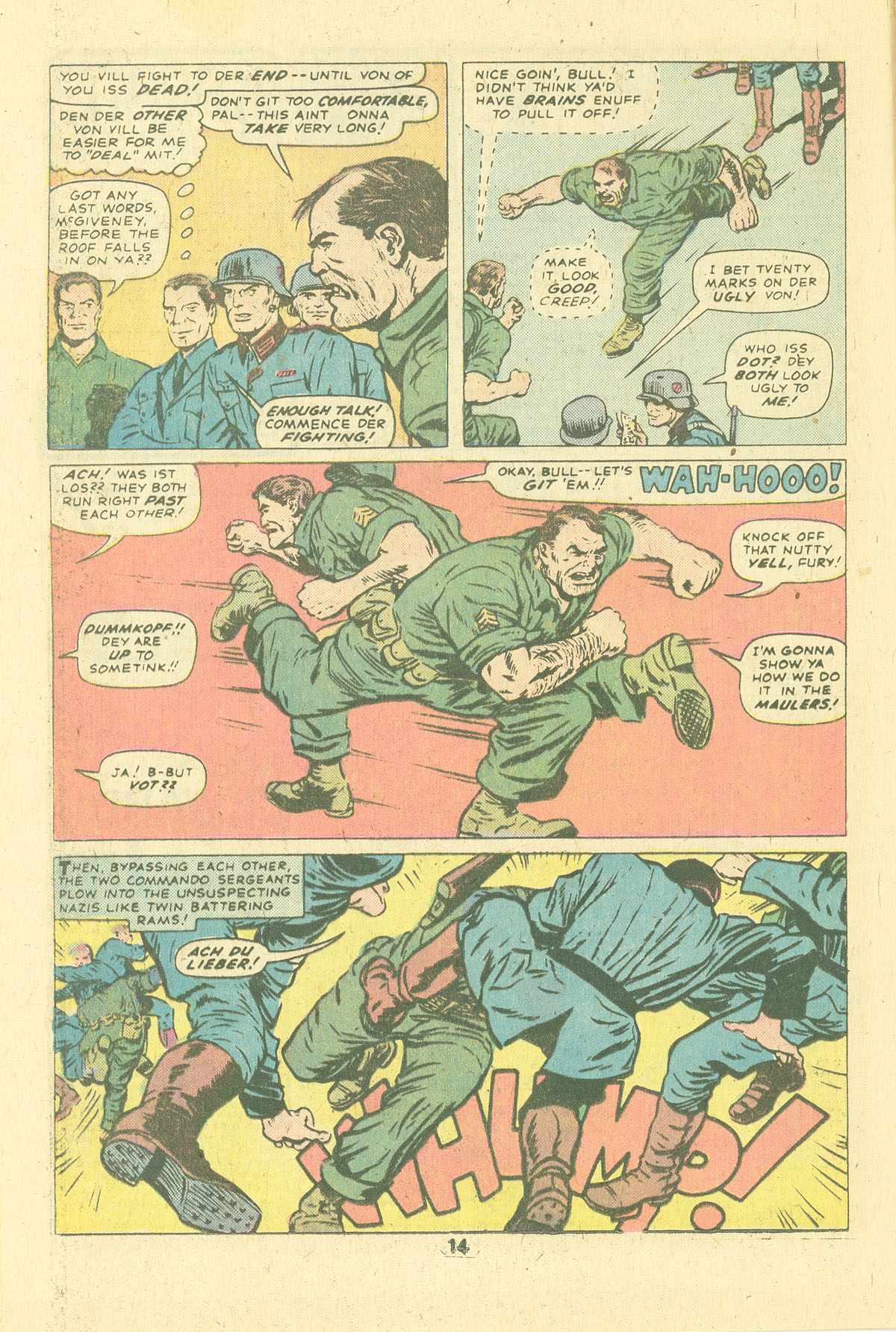 Read online Sgt. Fury comic -  Issue #124 - 16