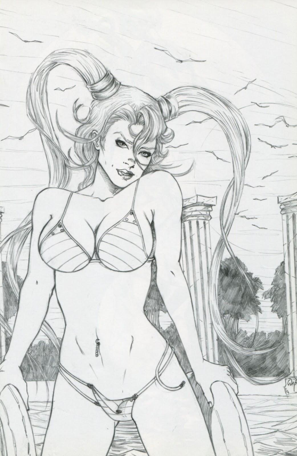 Read online Latex Alice - Bikini Bash Swimsuit Special comic -  Issue # Full - 11