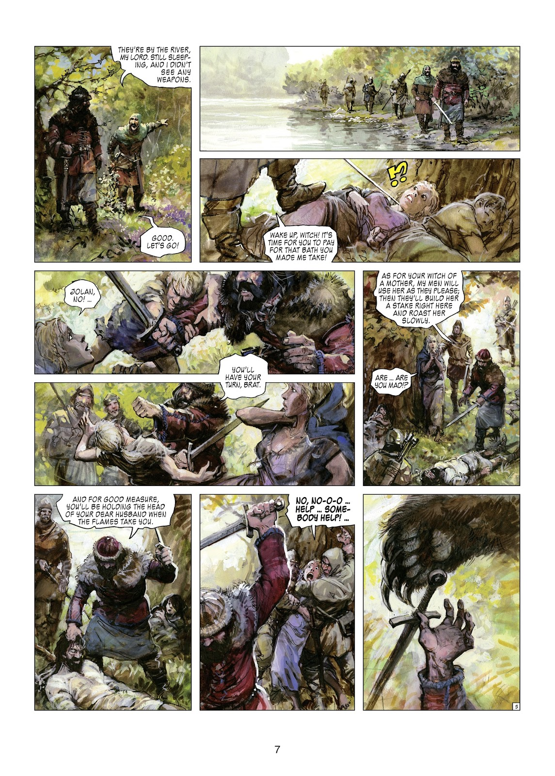 Read online Thorgal comic -  Issue #21 - 9