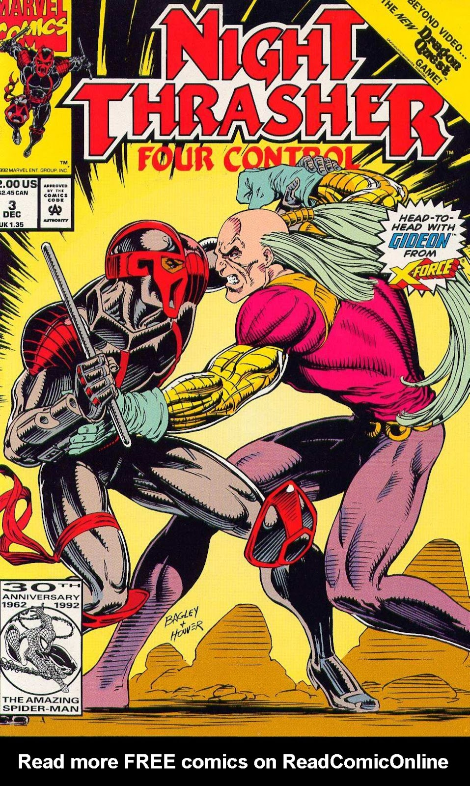 Night Thrasher: Four Control 3 Page 1