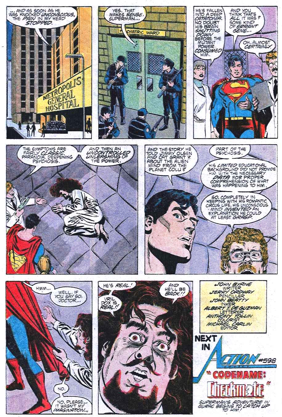 Read online Adventures of Superman (1987) comic -  Issue #438 - 23
