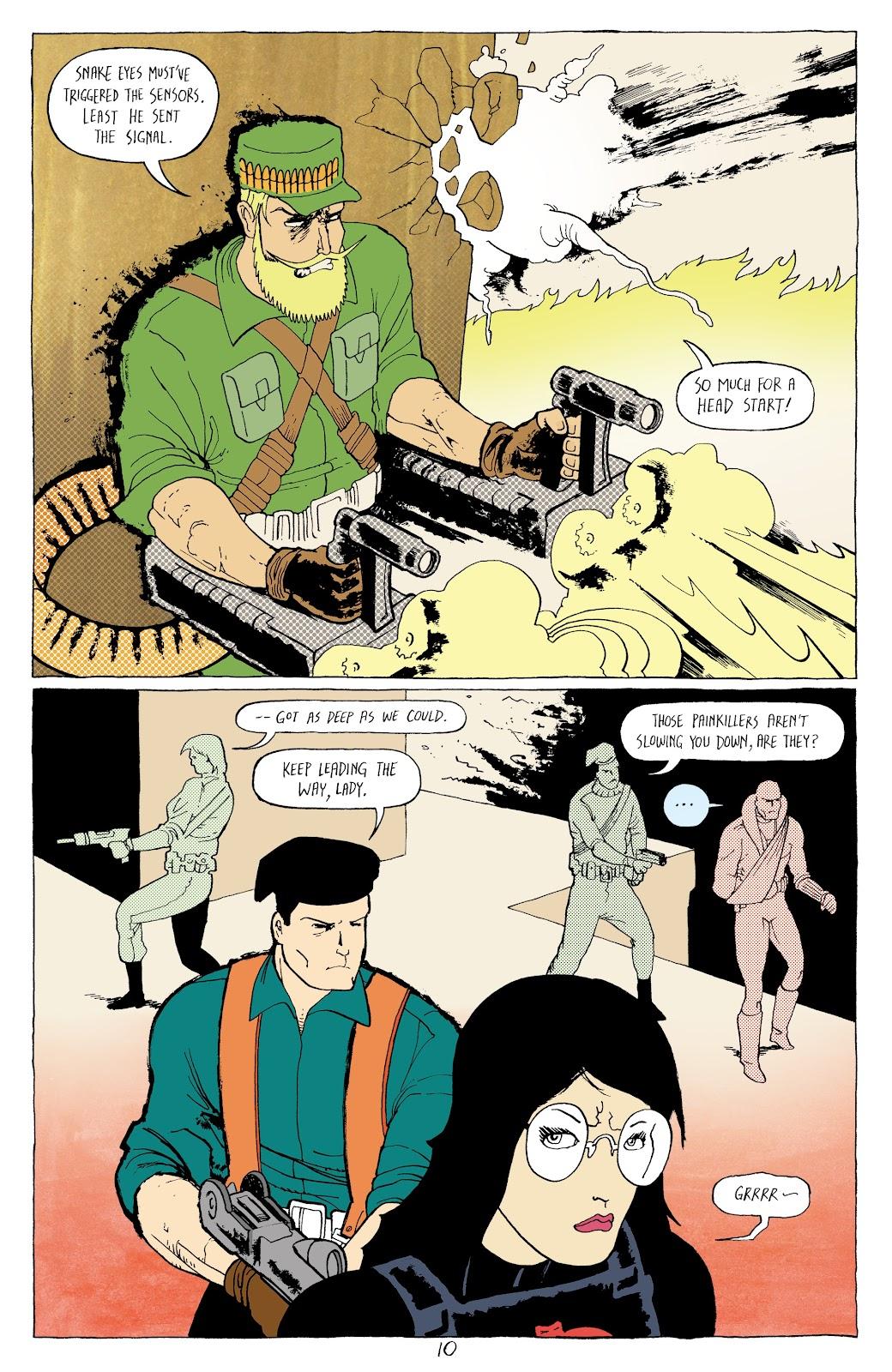 Read online G.I. Joe: Sierra Muerte comic -  Issue #3 - 12