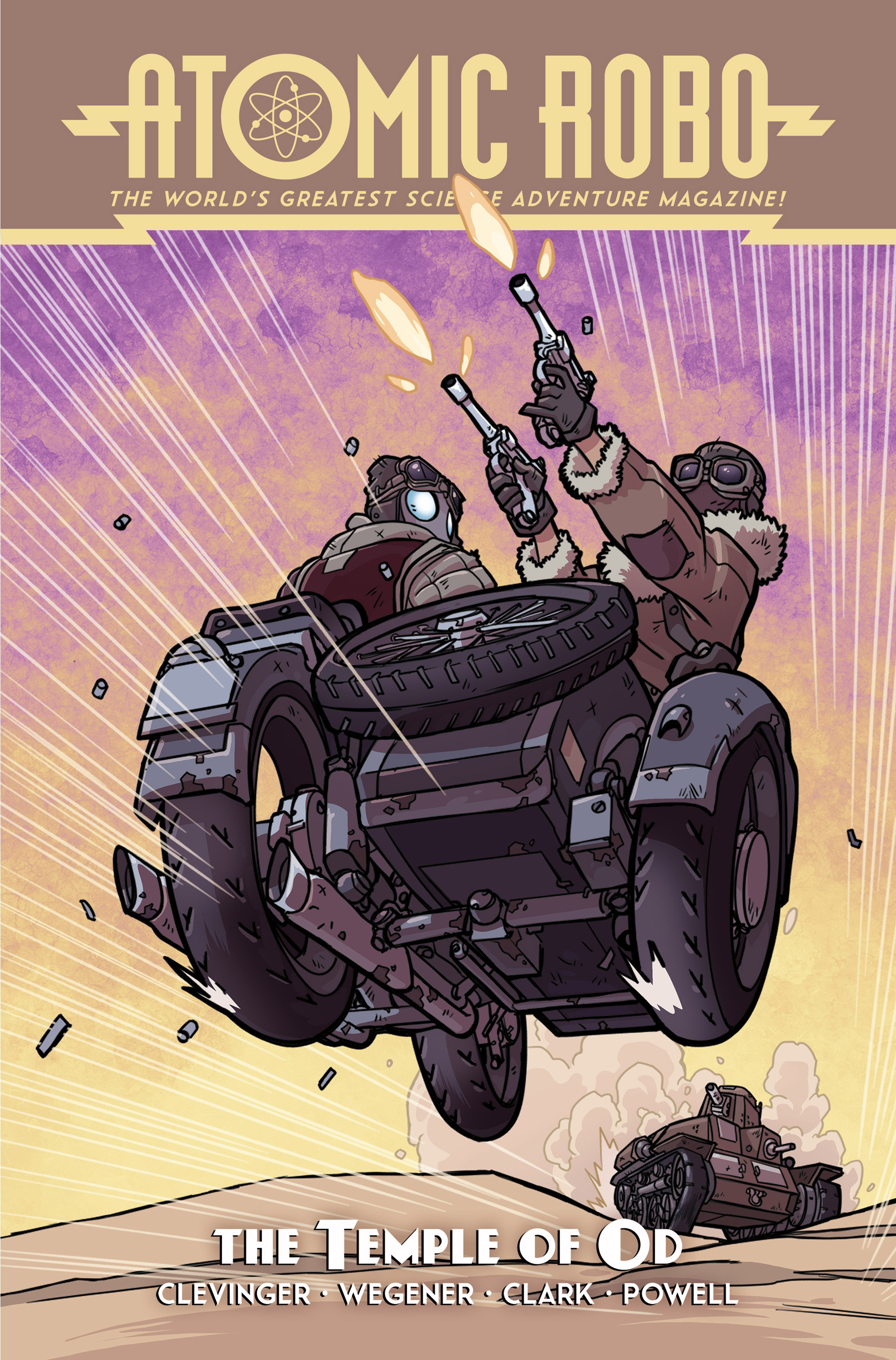 Read online Atomic Robo and the Temple of Od comic -  Issue #1 - 1