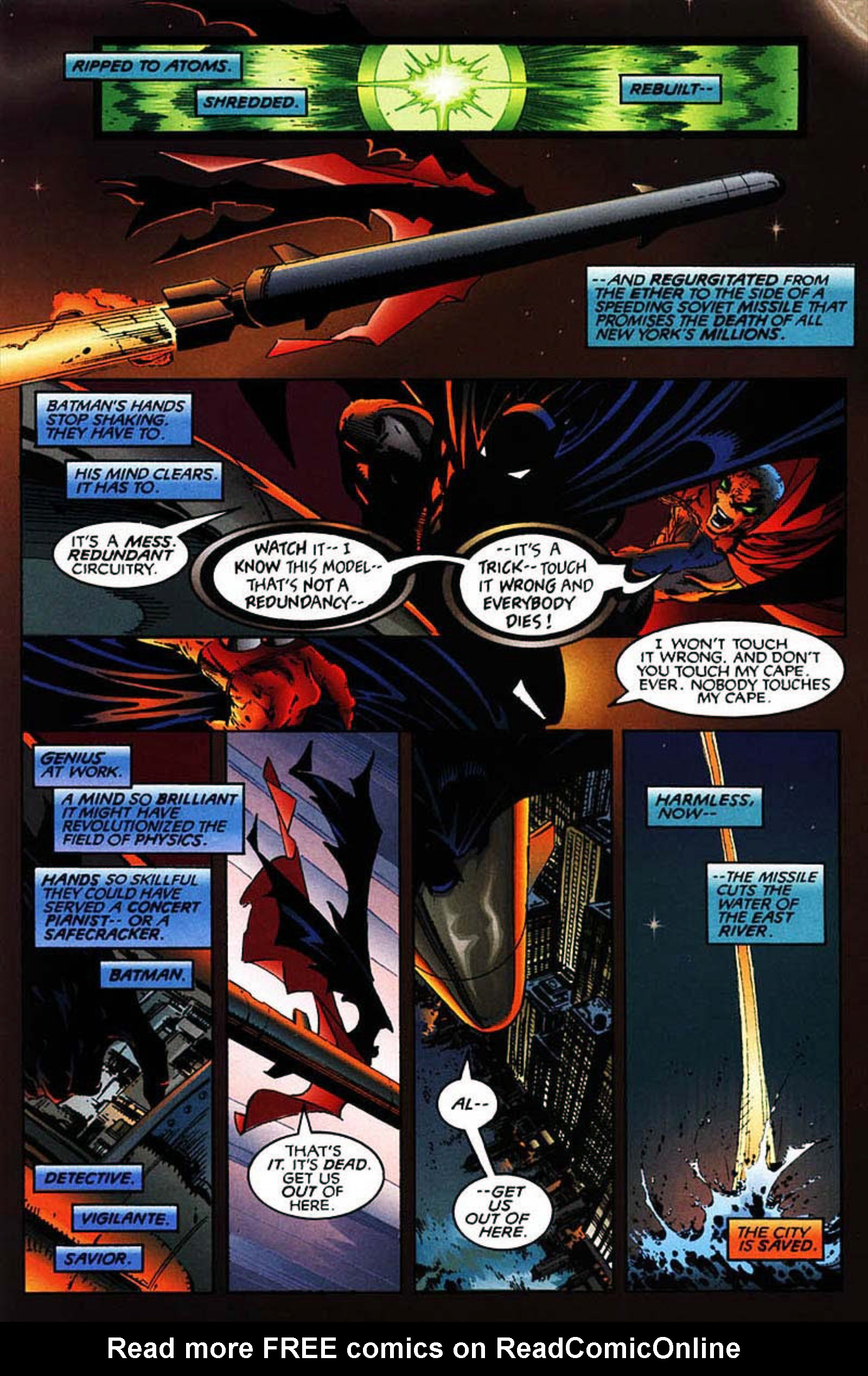 Read online Spawn-Batman comic -  Issue # Full - 52