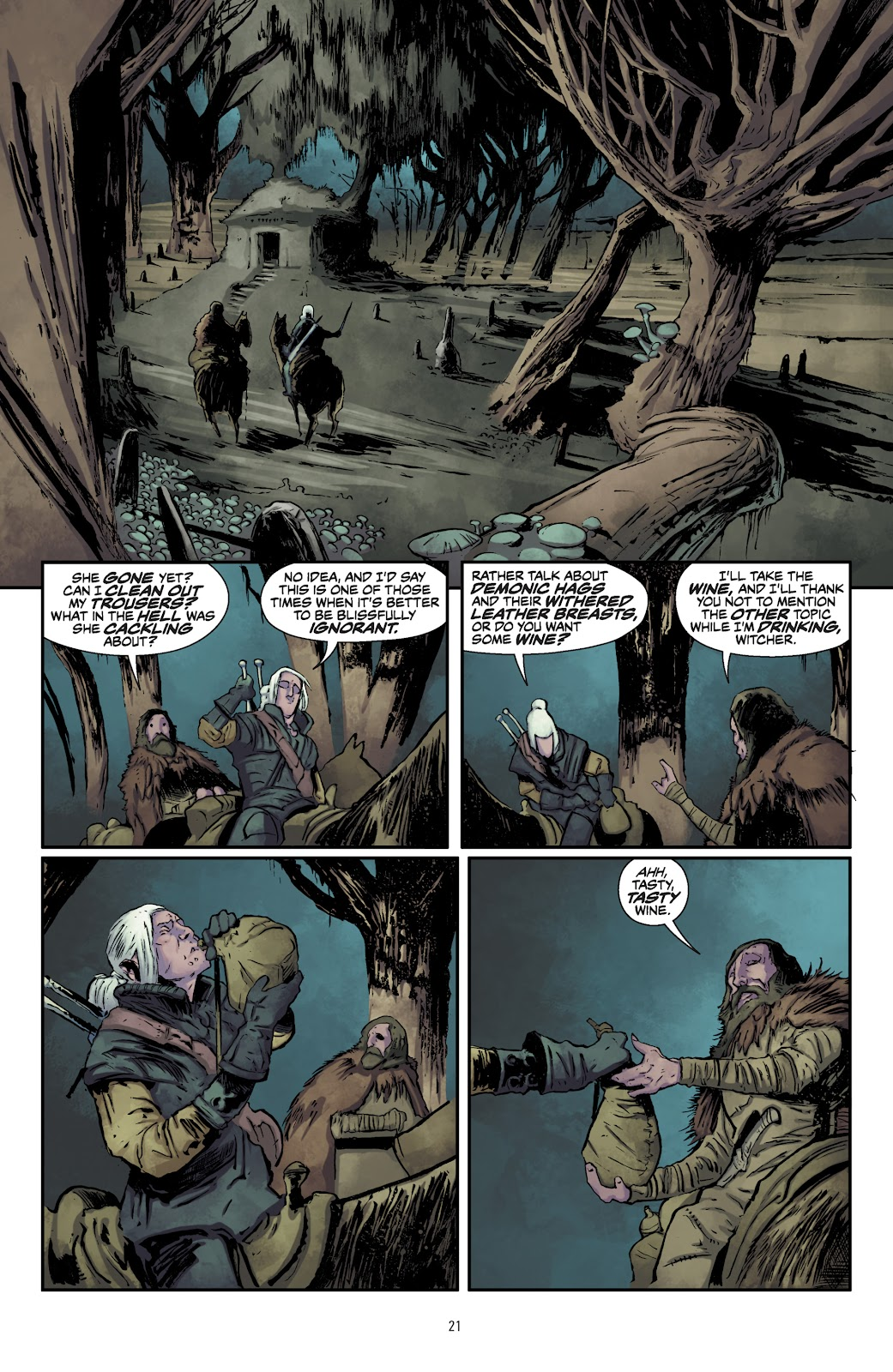 Read online The Witcher Omnibus comic -  Issue # TPB (Part 1) - 22