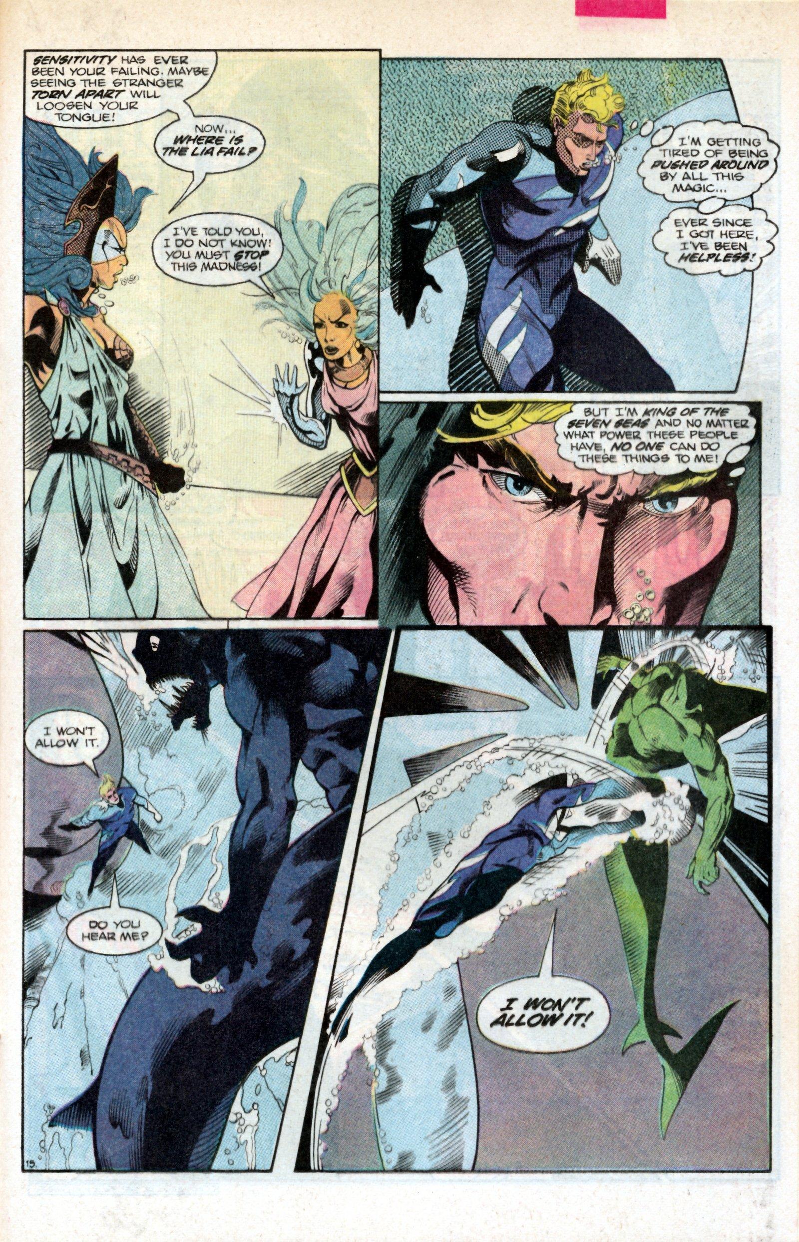 Read online Aquaman (1986) comic -  Issue #2 - 21
