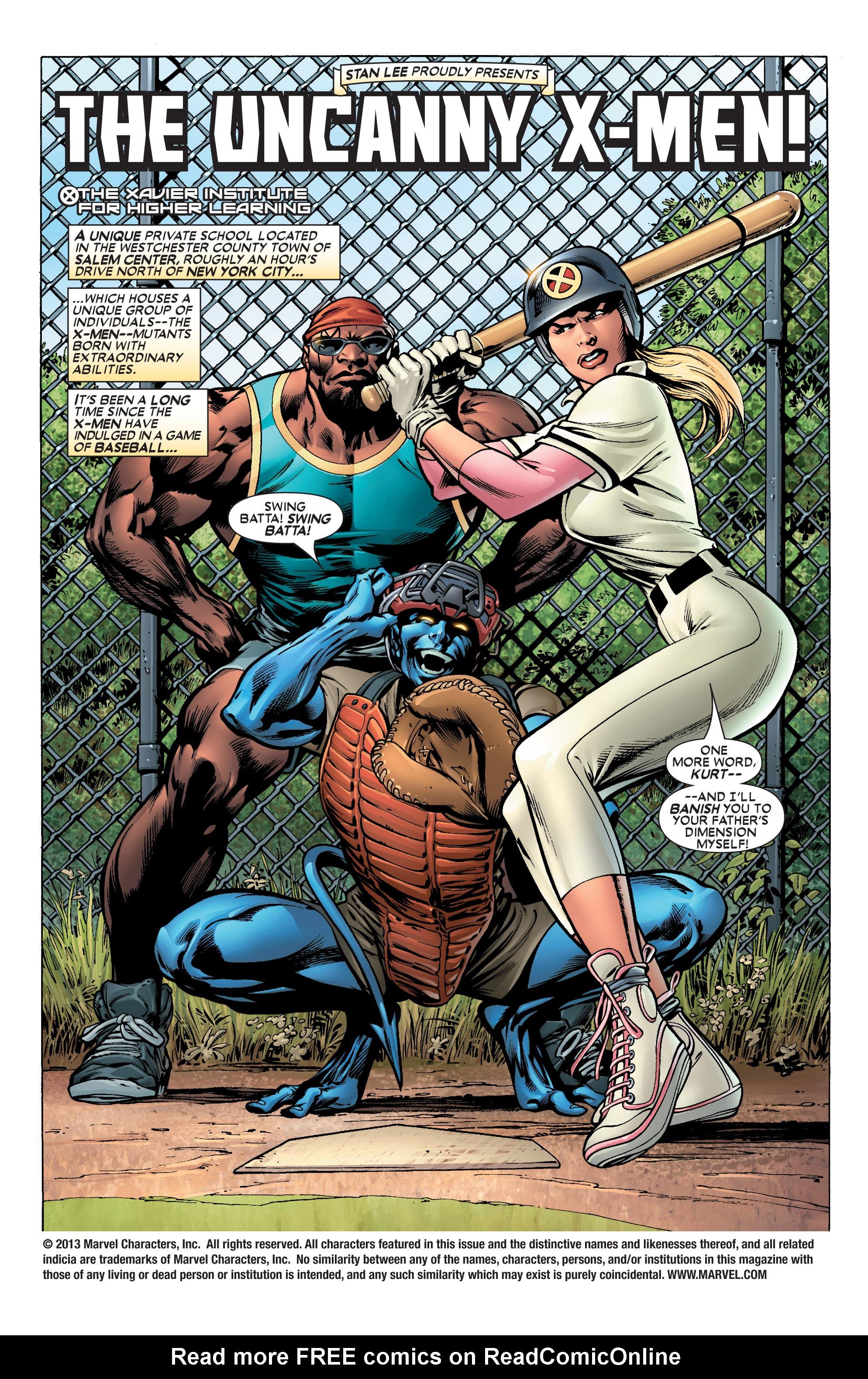 Read online Uncanny X-Men (1963) comic -  Issue #444 - 2