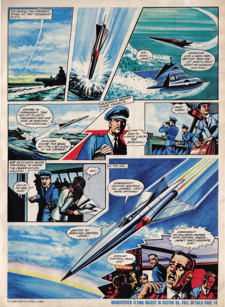 Read online TV Century 21 (TV 21) comic -  Issue #116 - 16