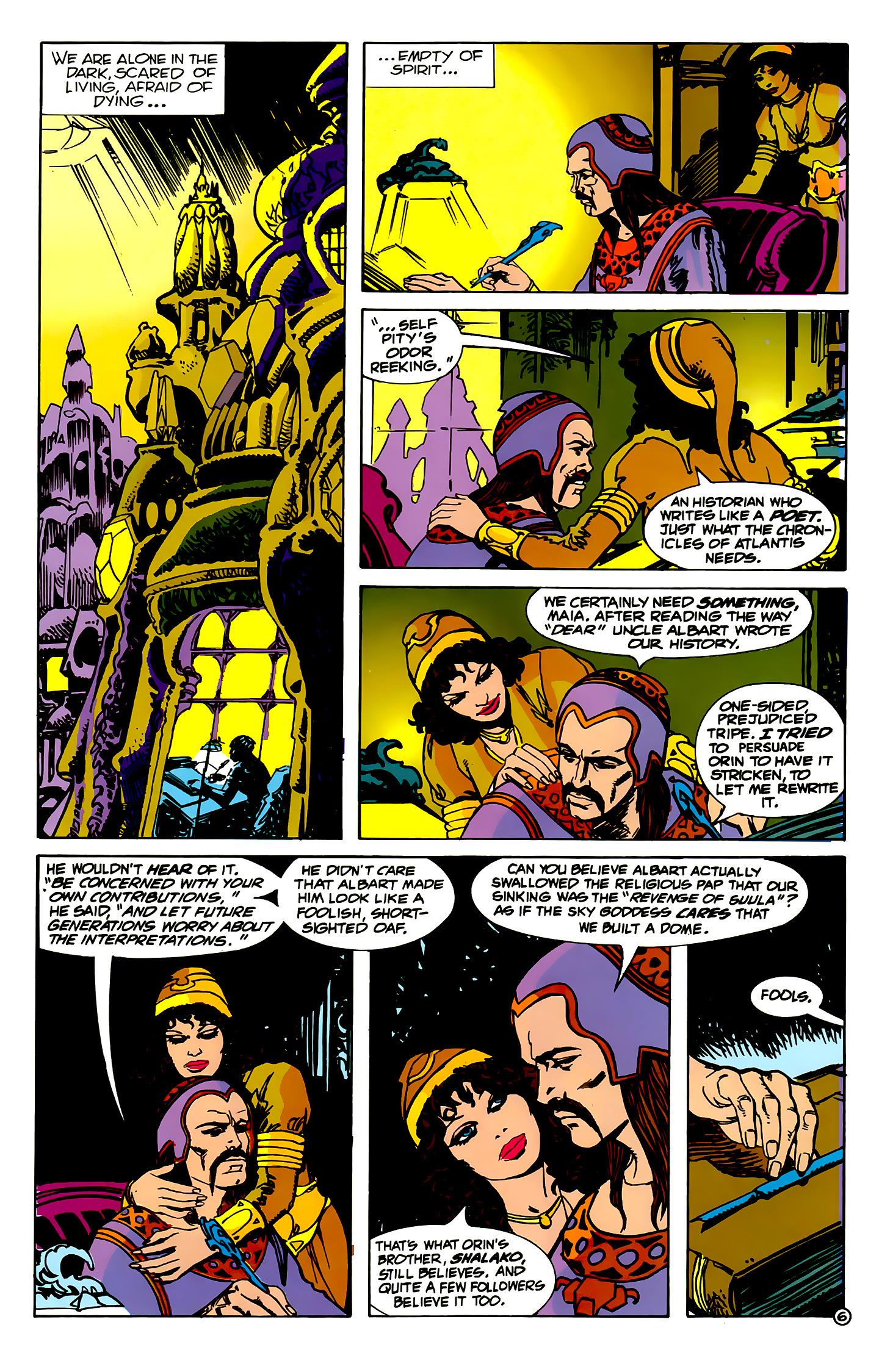 Read online Atlantis Chronicles comic -  Issue #2 - 6