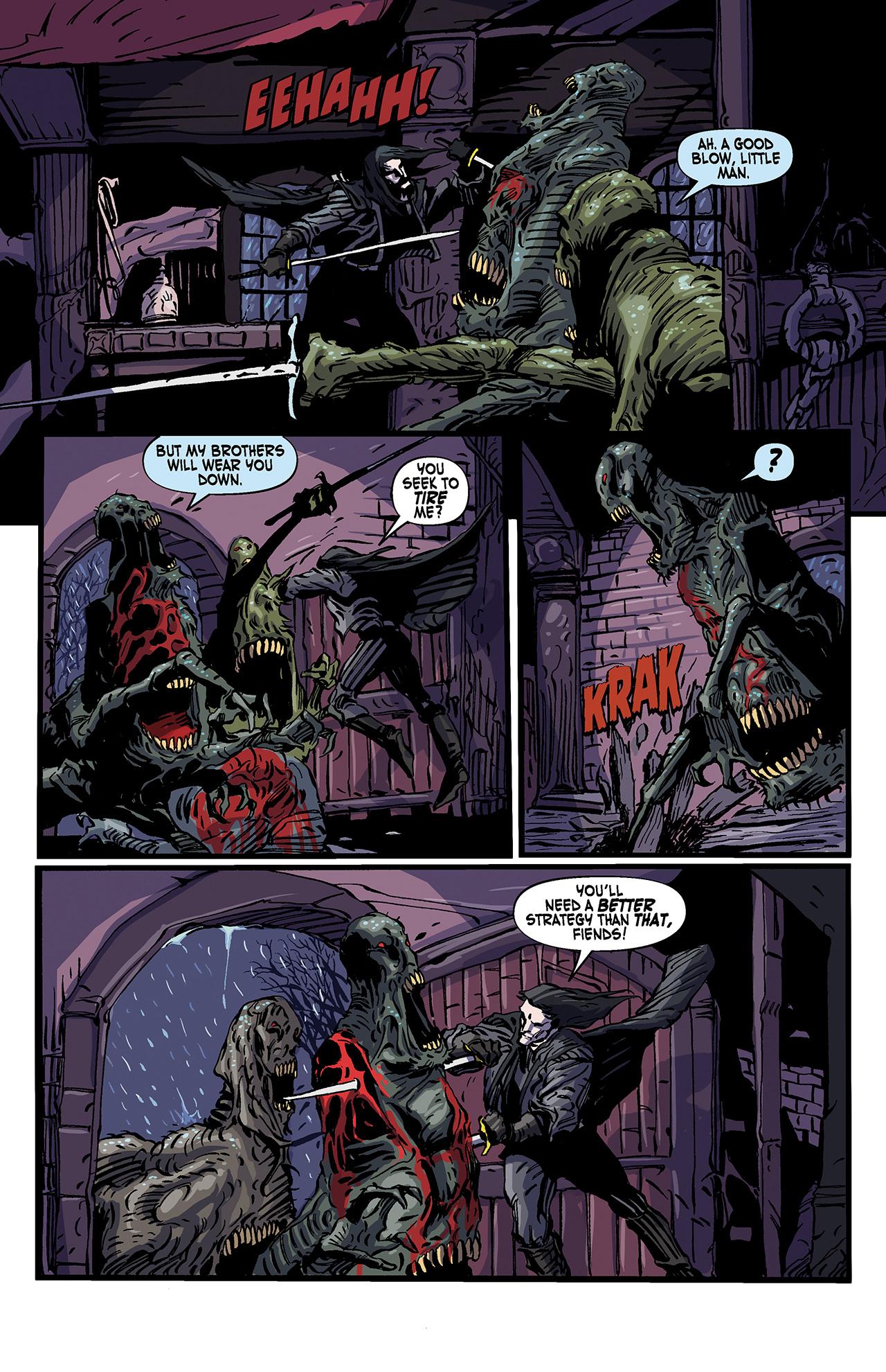 Read online Solomon Kane: Death's Black Riders comic -  Issue #4 - 11