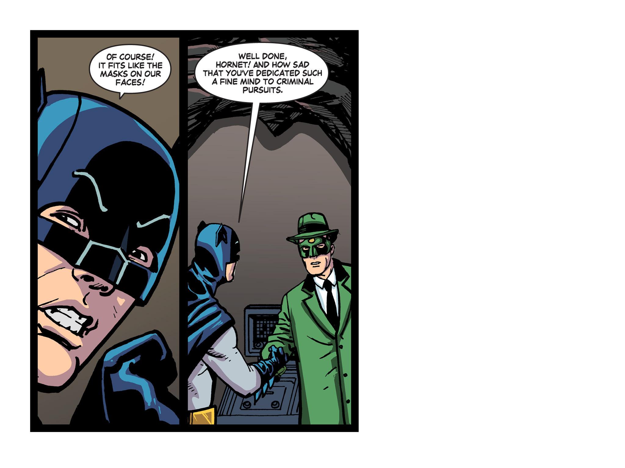 Read online Batman '66 Meets the Green Hornet [II] comic -  Issue #5 - 70