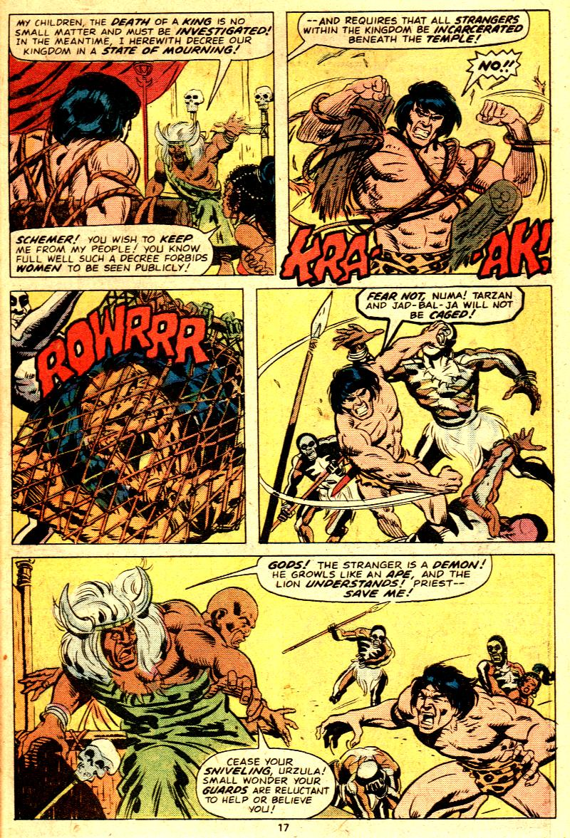 Read online Tarzan (1977) comic -  Issue # _Annual 2 - 15