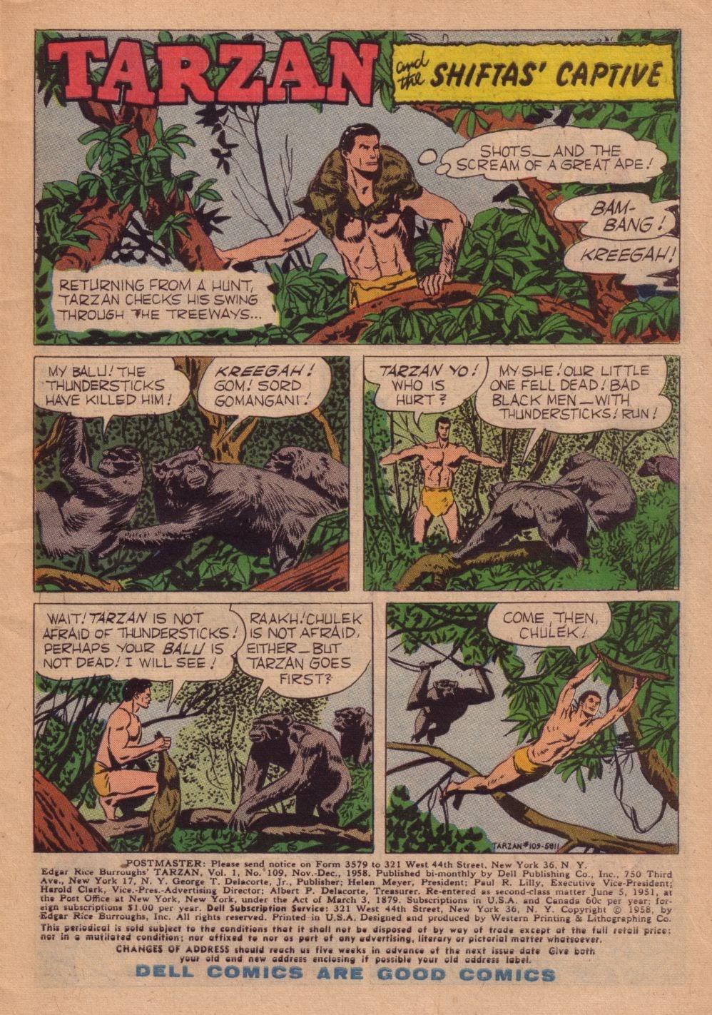 Tarzan (1948) issue 109 - Page 3