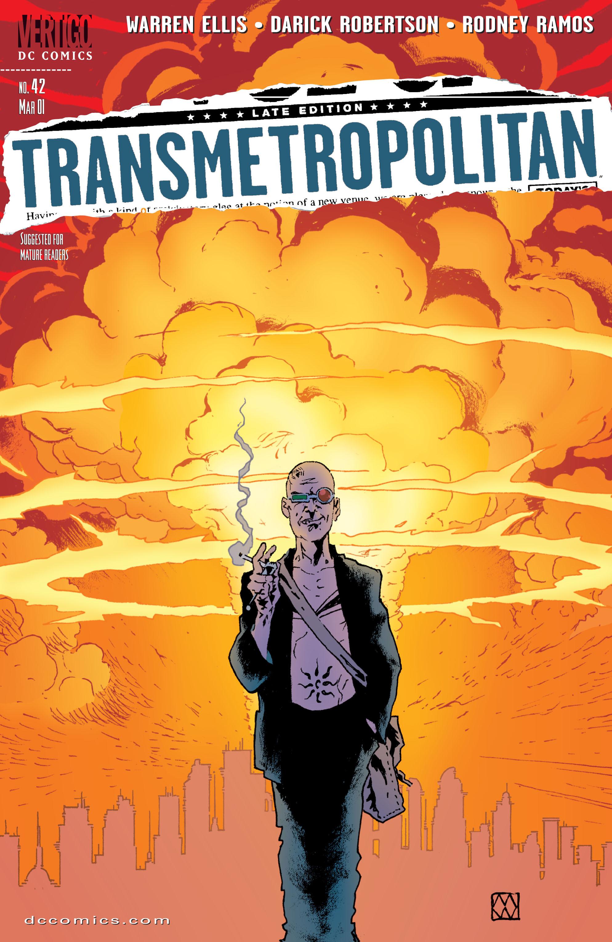 Read online Transmetropolitan comic -  Issue #42 - 1