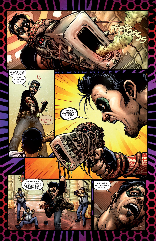 Read online Ballistic (2013) comic -  Issue #1 - 22