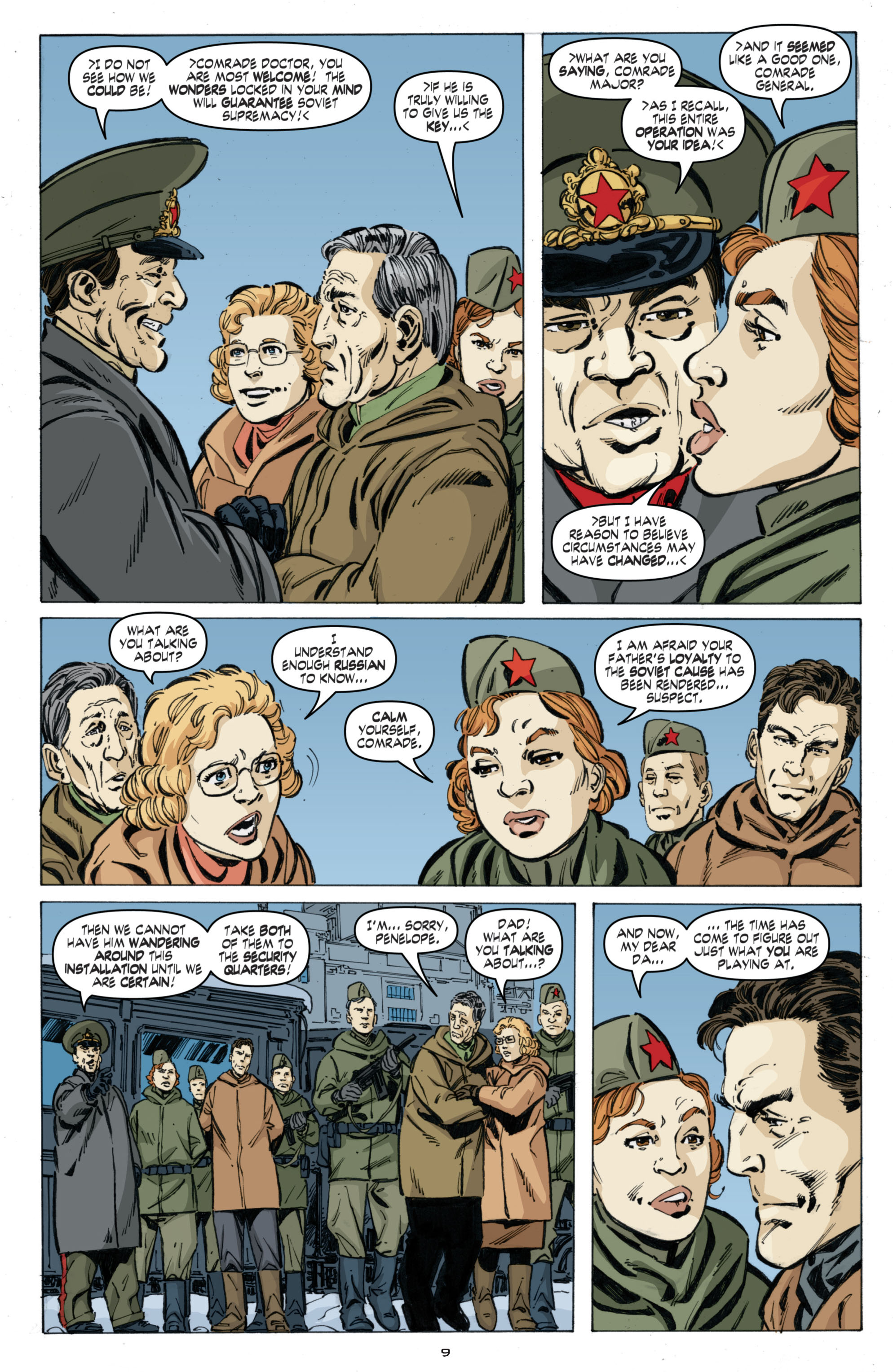 Read online Cold War comic -  Issue # TPB - 93