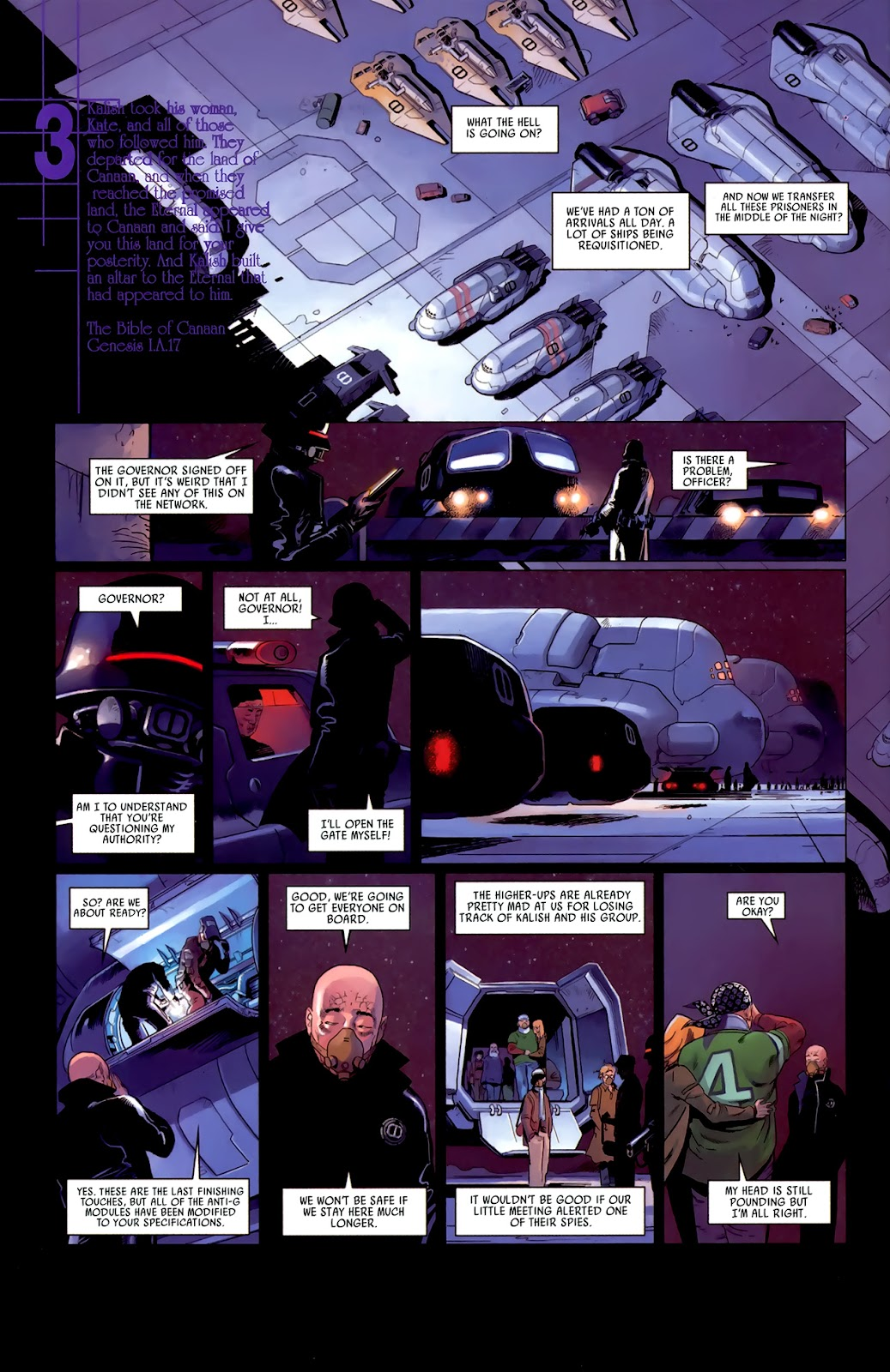 Read online Universal War One: Revelations comic -  Issue #3 - 22