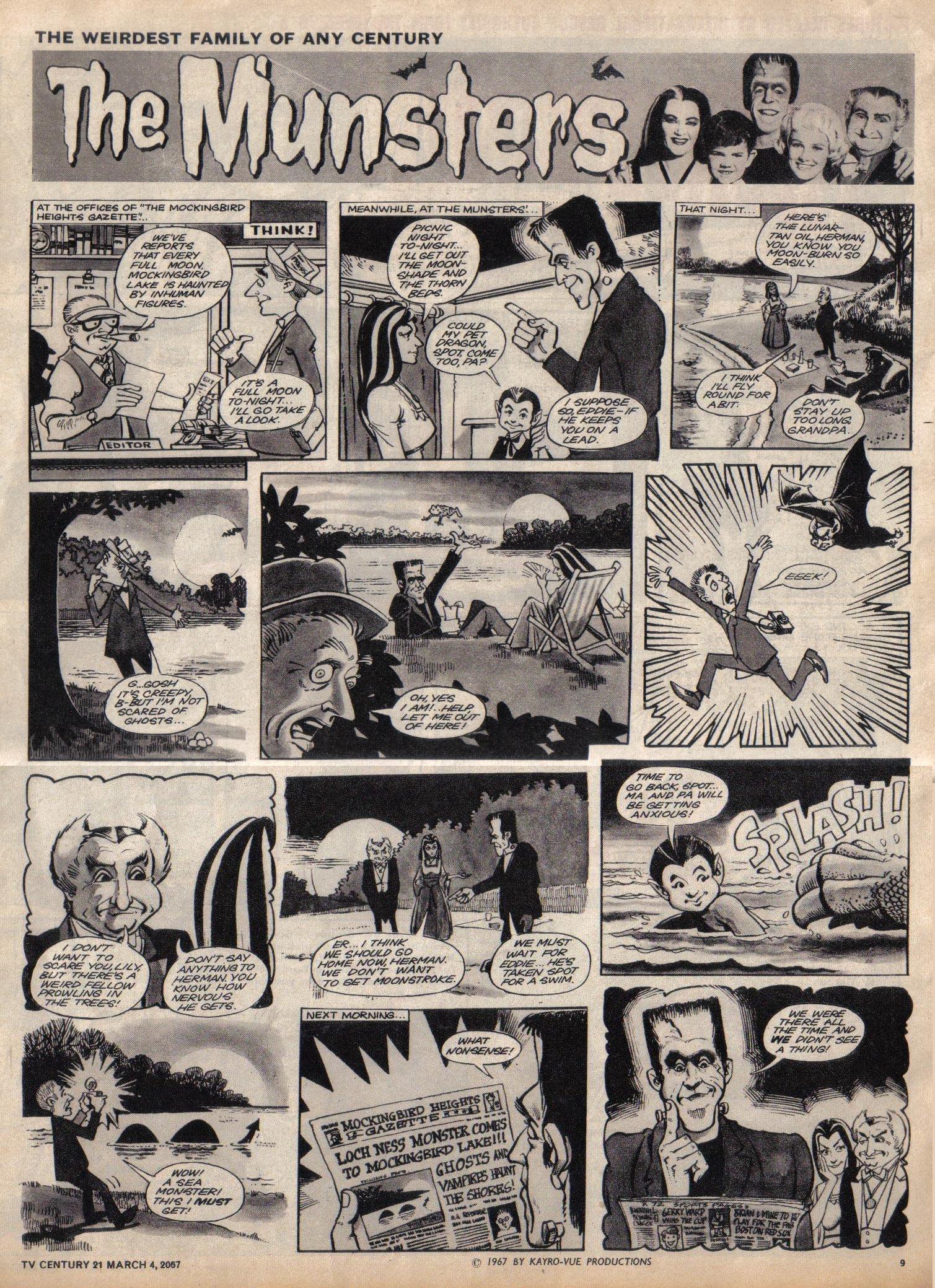 Read online TV Century 21 (TV 21) comic -  Issue #111 - 9