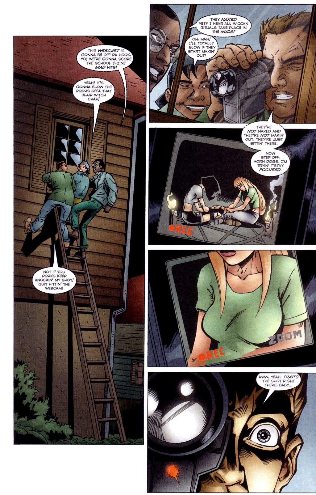 Read online Jezebelle comic -  Issue #4 - 16