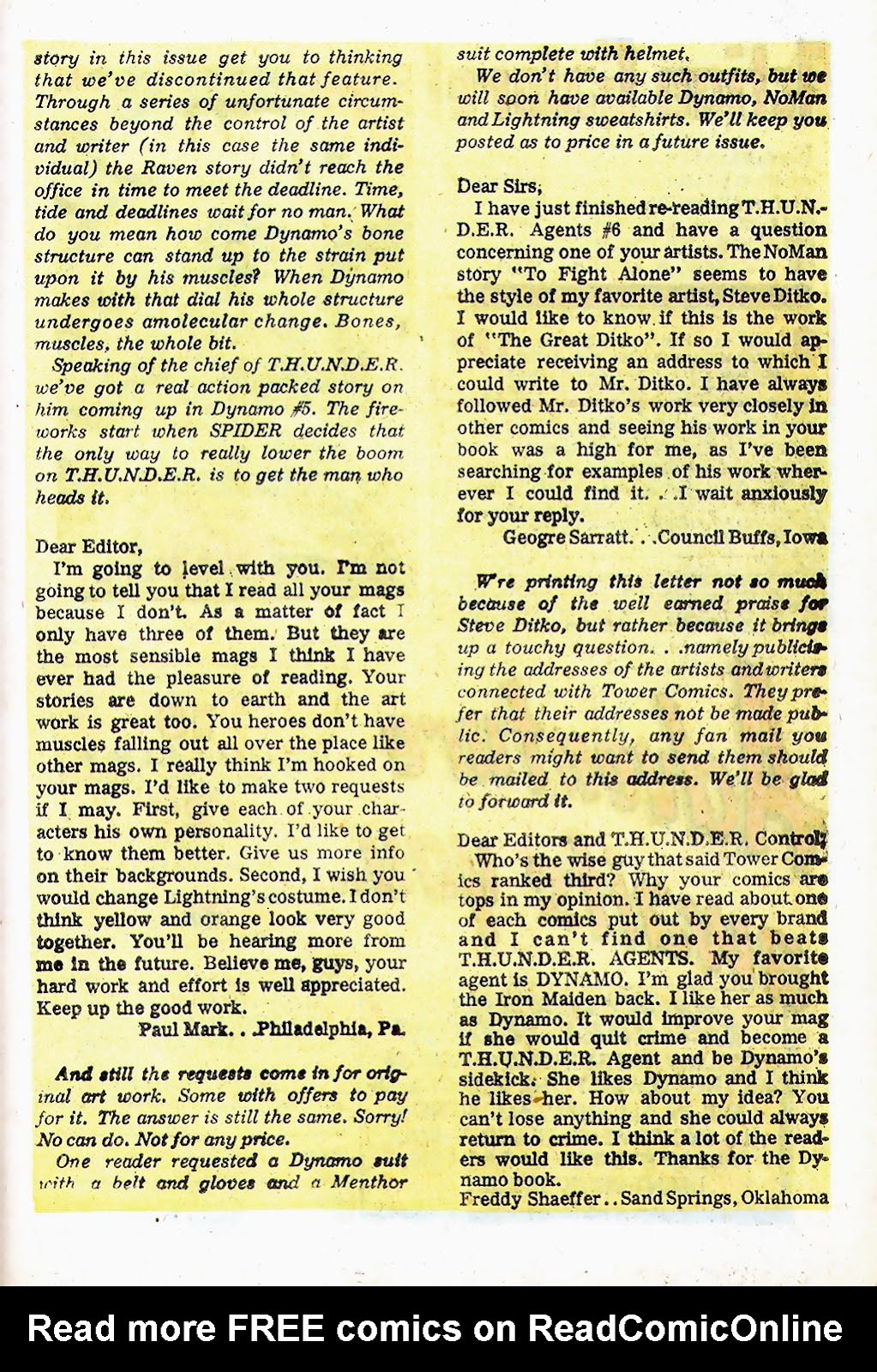 T.H.U.N.D.E.R. Agents (1965) issue 13 - Page 34