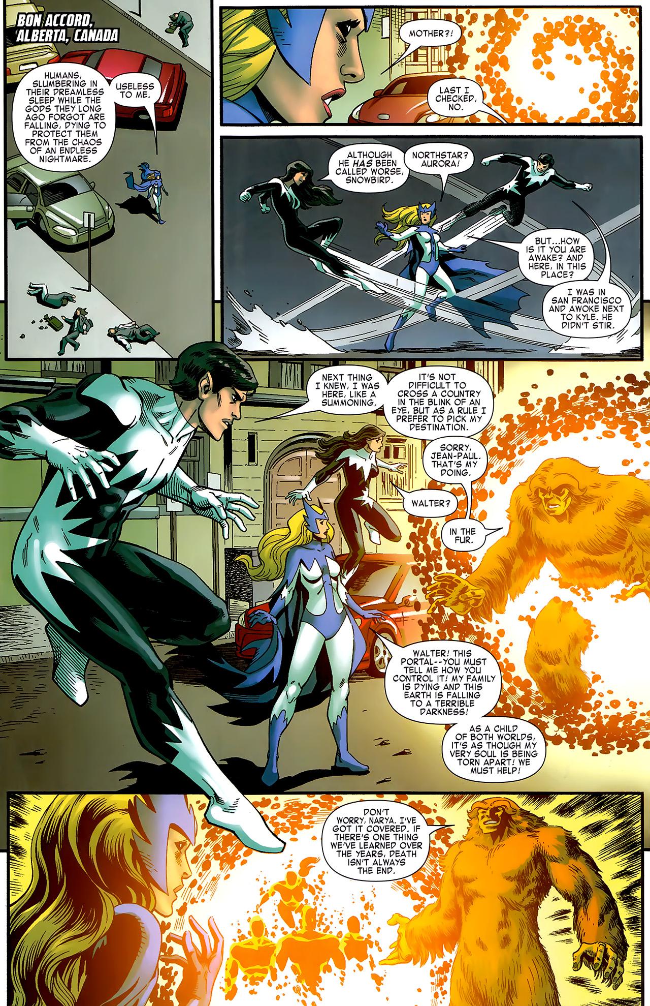 Read online Chaos War: Alpha Flight comic -  Issue # Full - 7