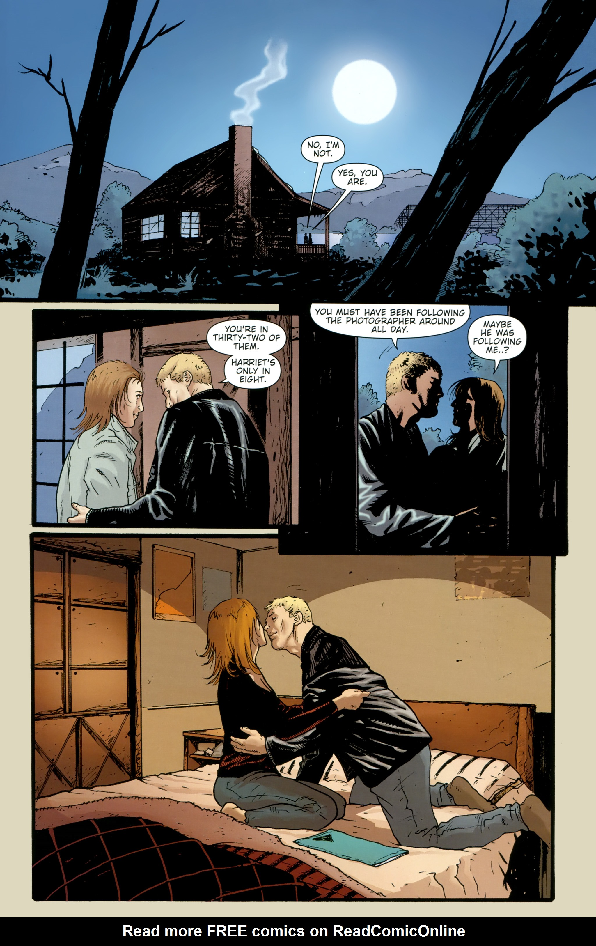 Read online The Girl With the Dragon Tattoo comic -  Issue # TPB 2 - 17